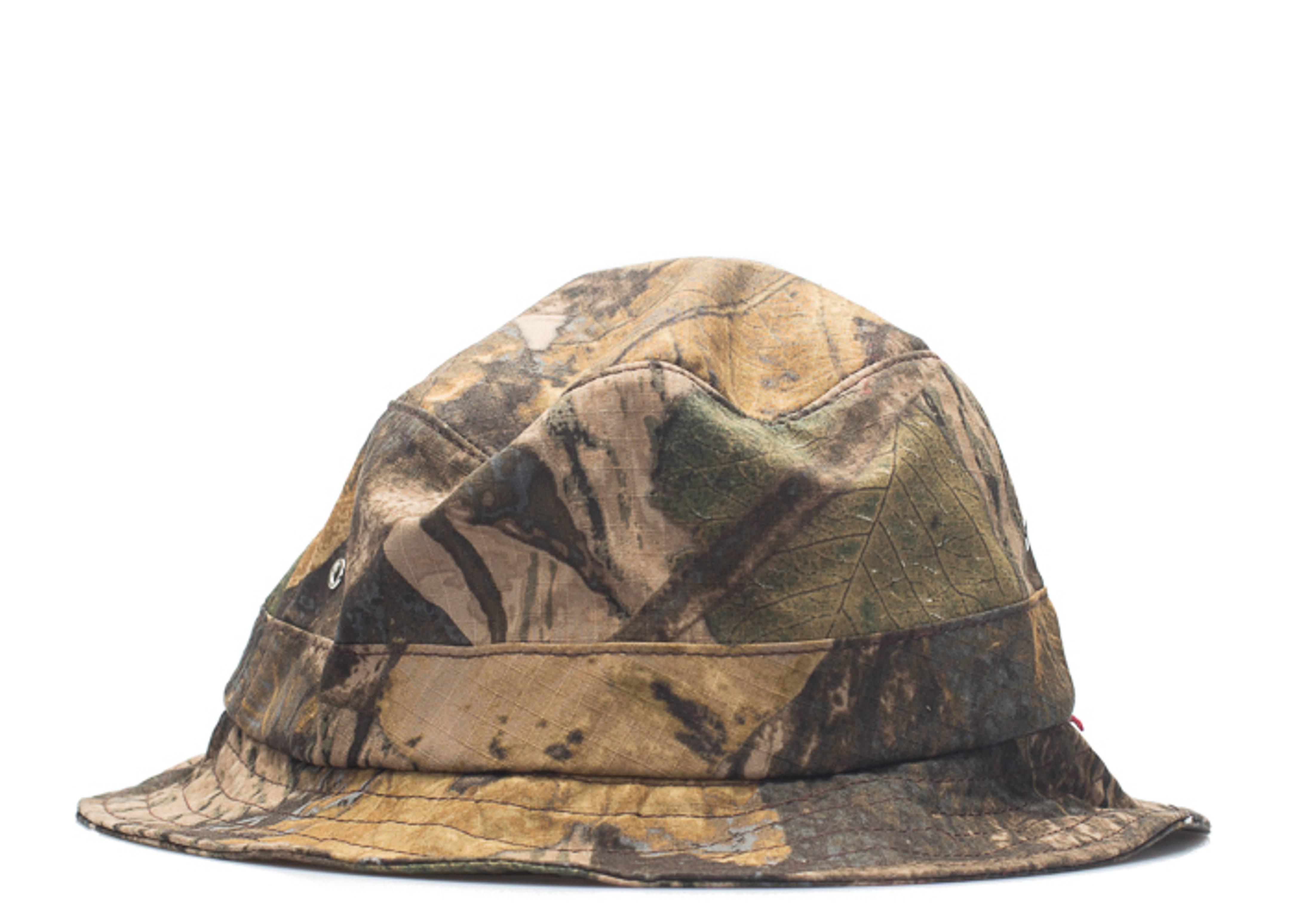real leaf bucket hat