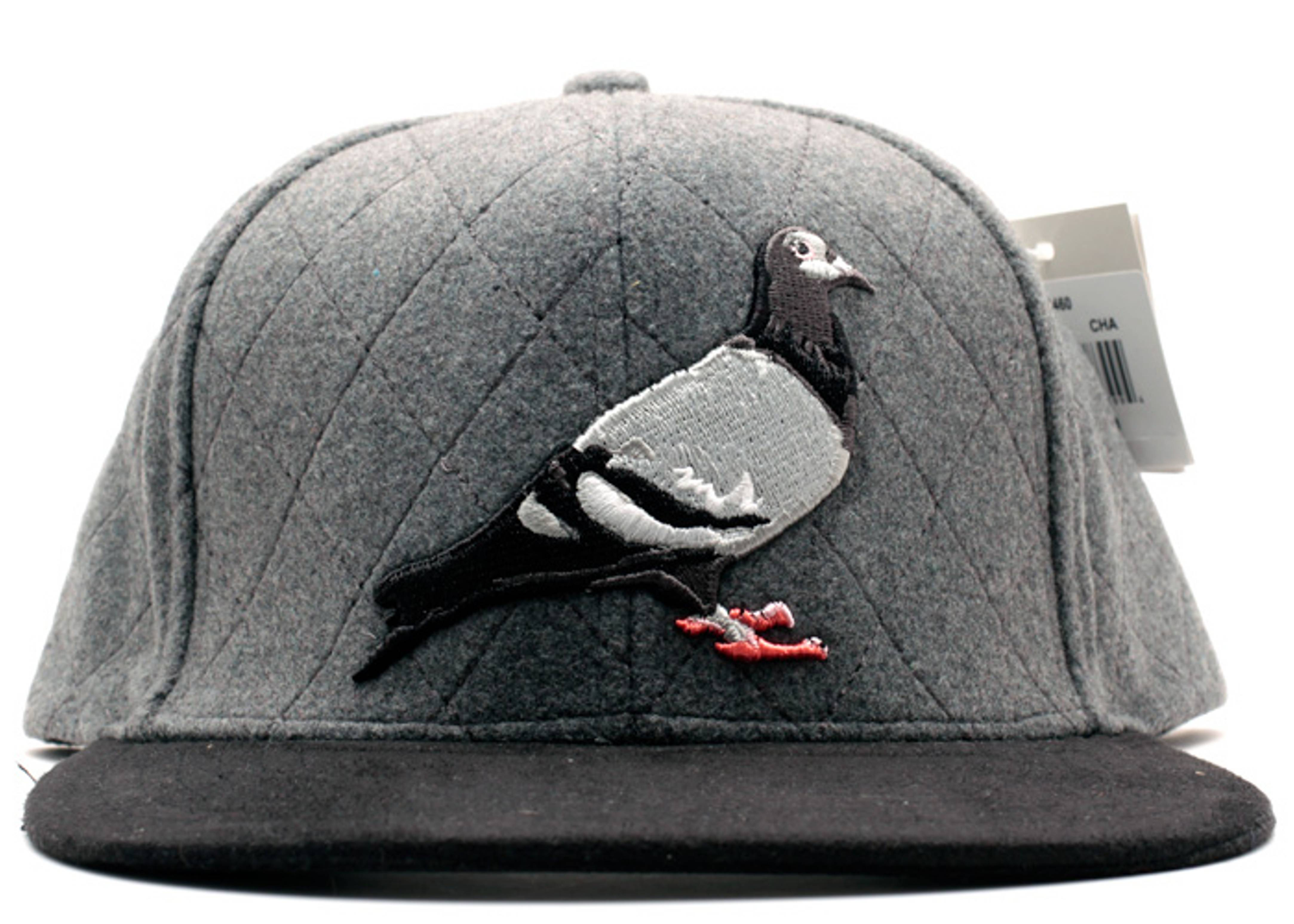 quilted pigeon snap-back