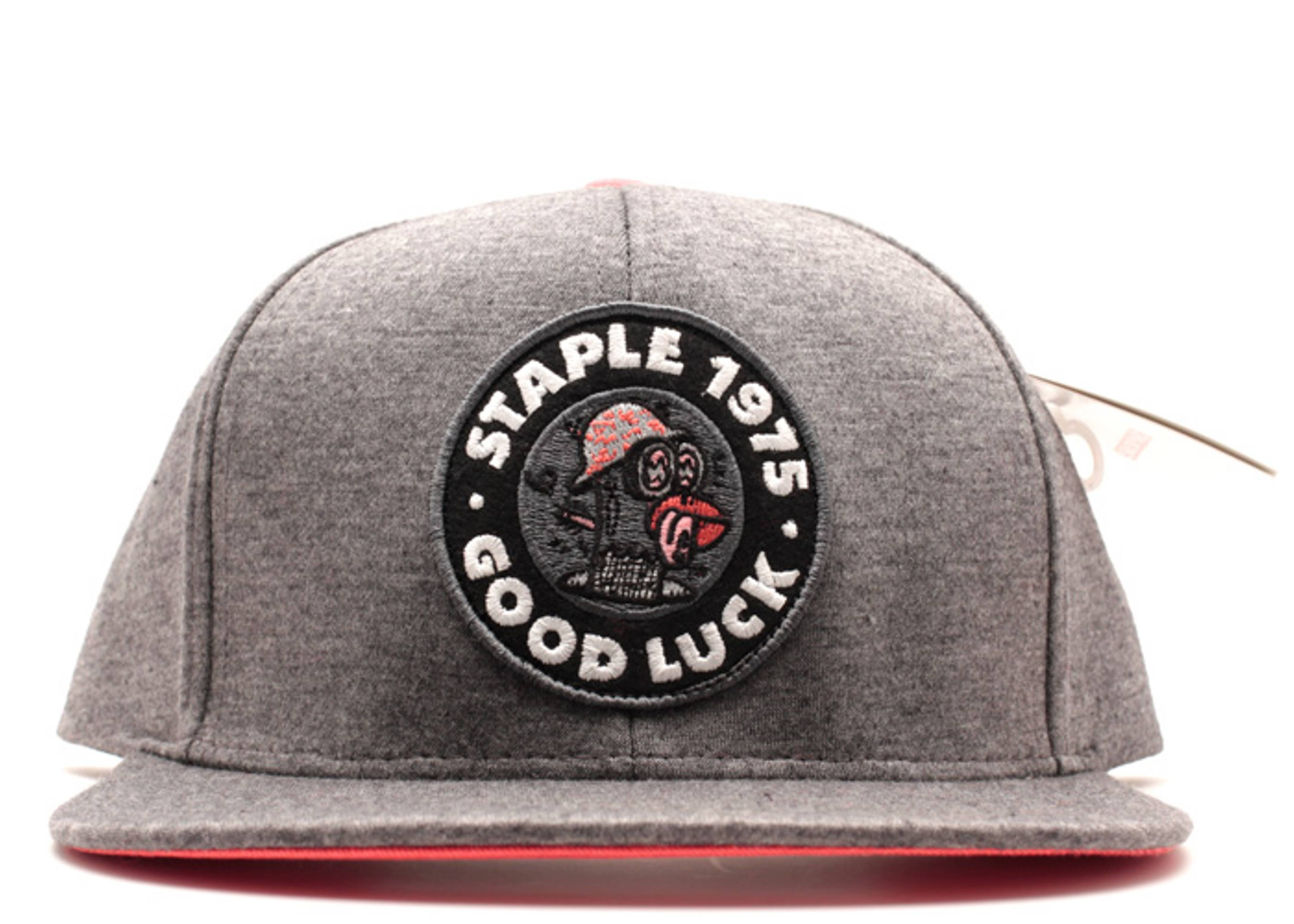 good luck snap-back