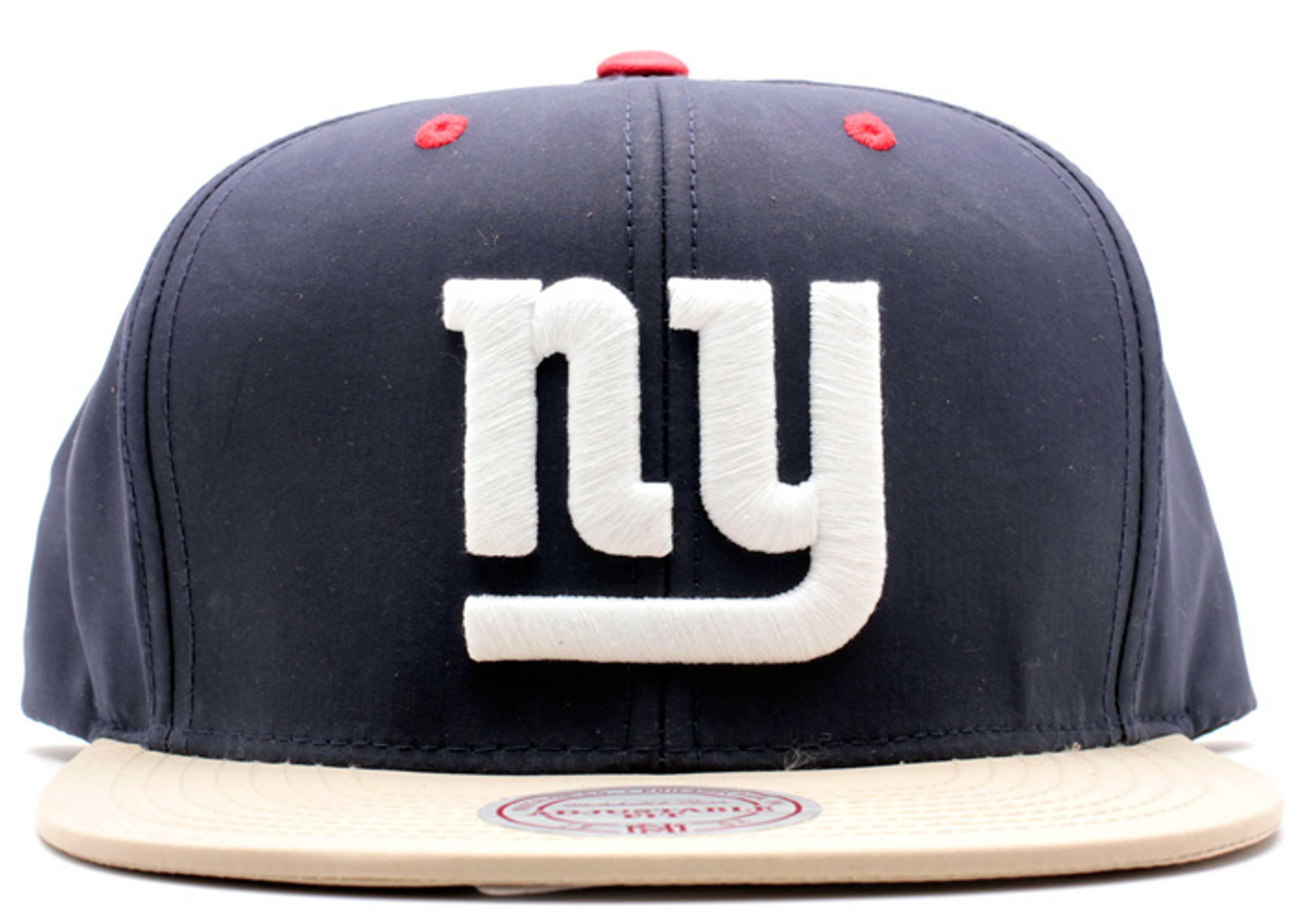 "new york giants strap-back ""nylon"""