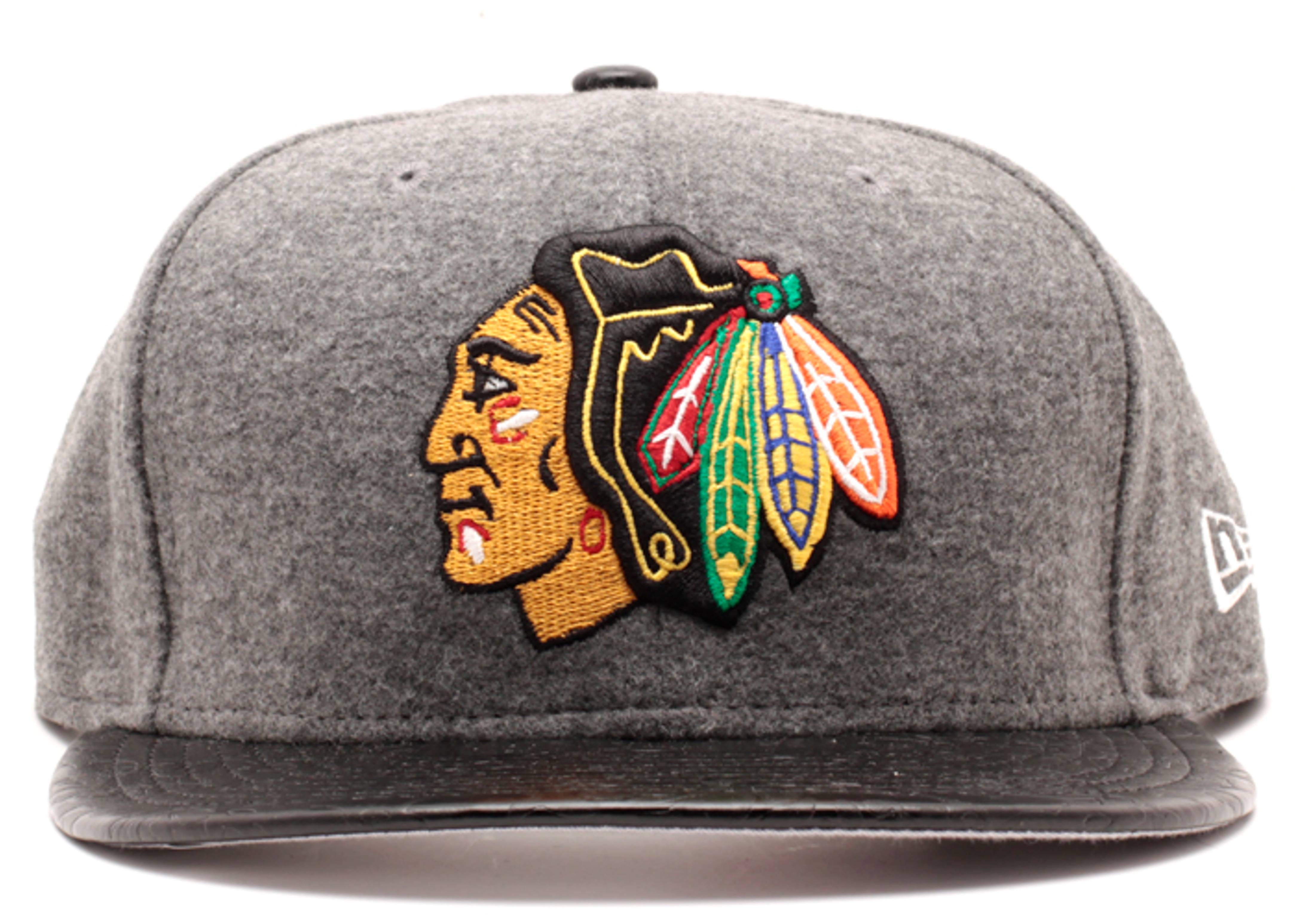 chicago blackhawks strap-back