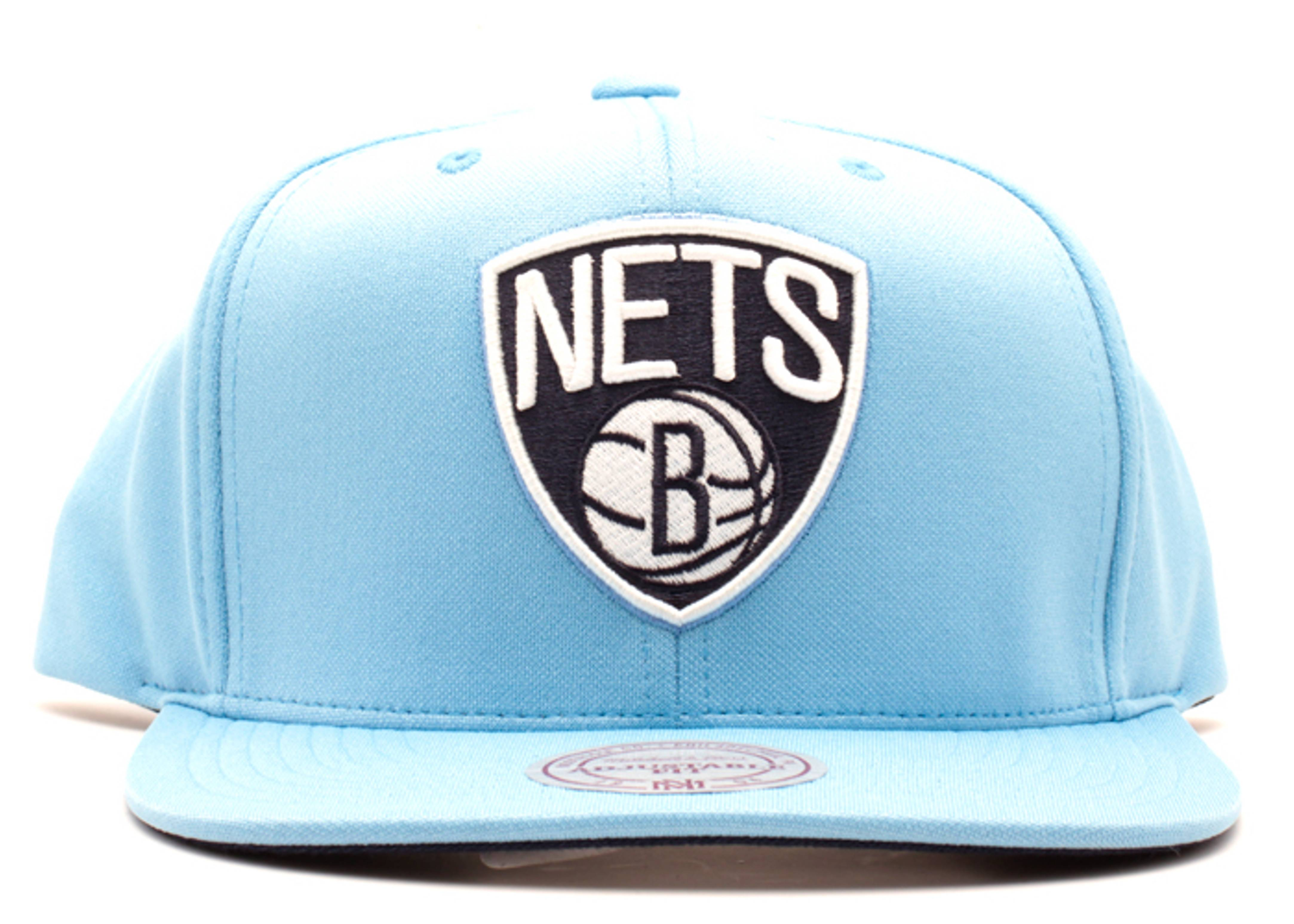 "brooklyn nets snap-back ""legend blue"""