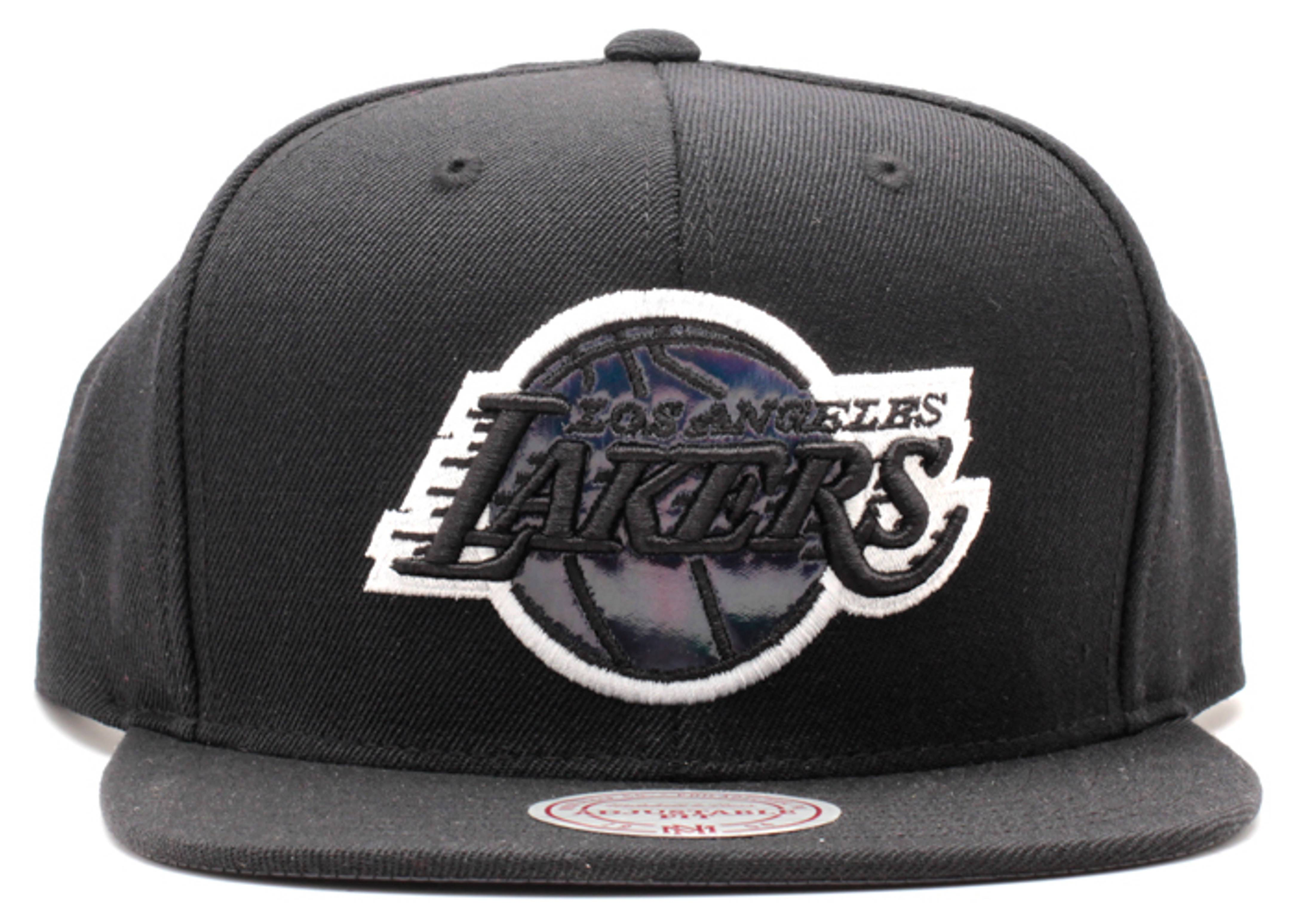 """los angeles lakers snap-back """"iridescent"""""""