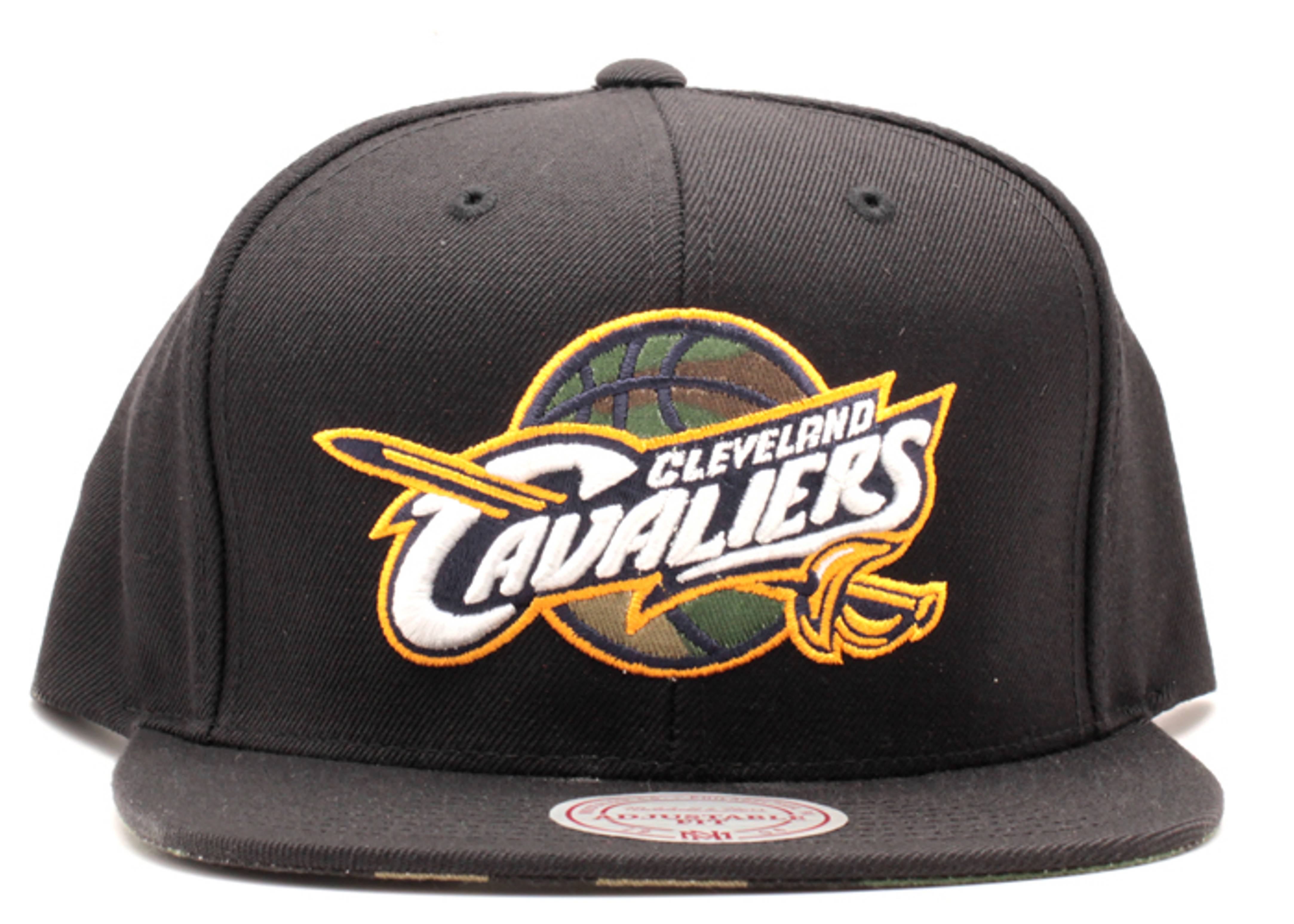 "cleveland cavaliers snap-back ""camo ball"""