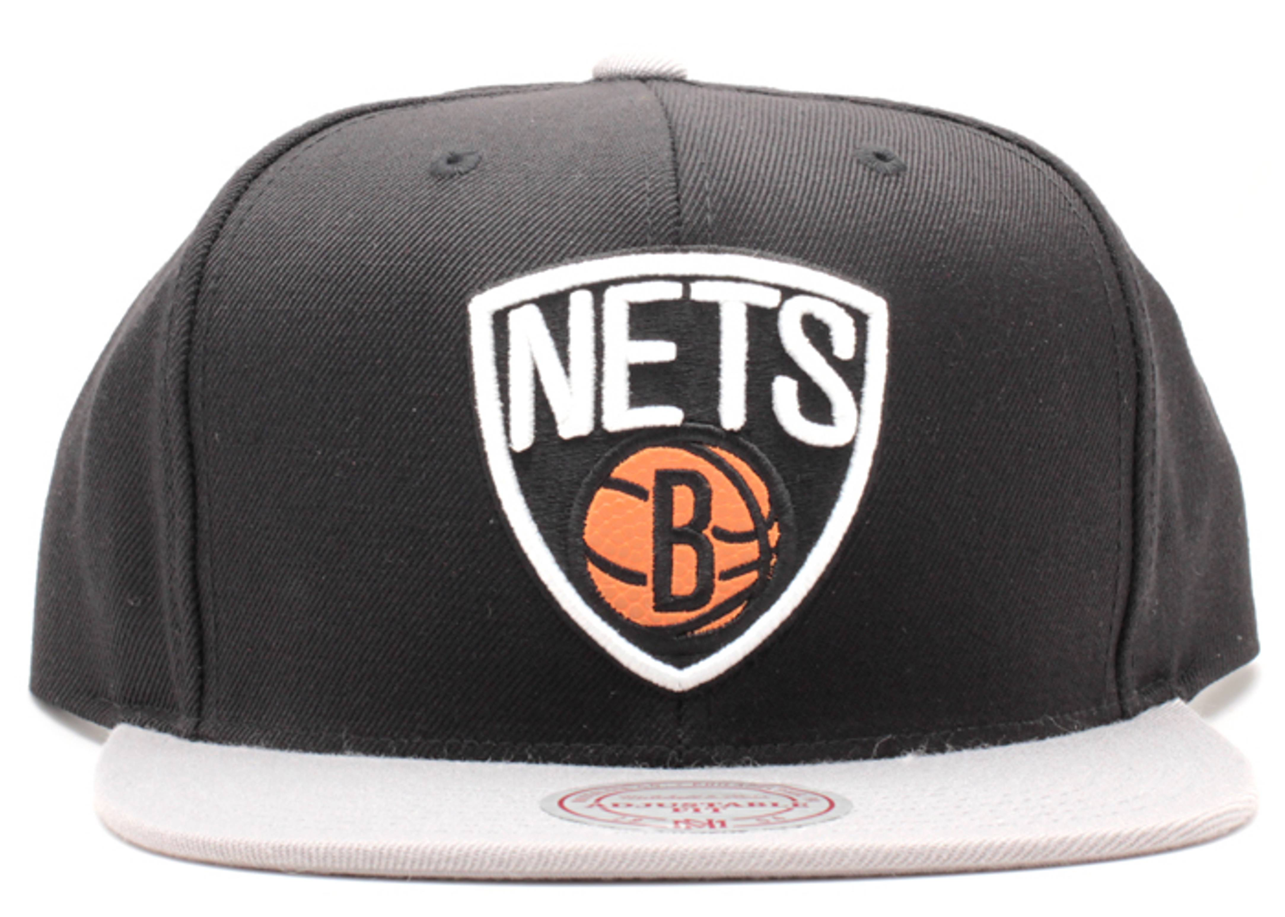 "brooklyn nets snap-back ""basketball"""