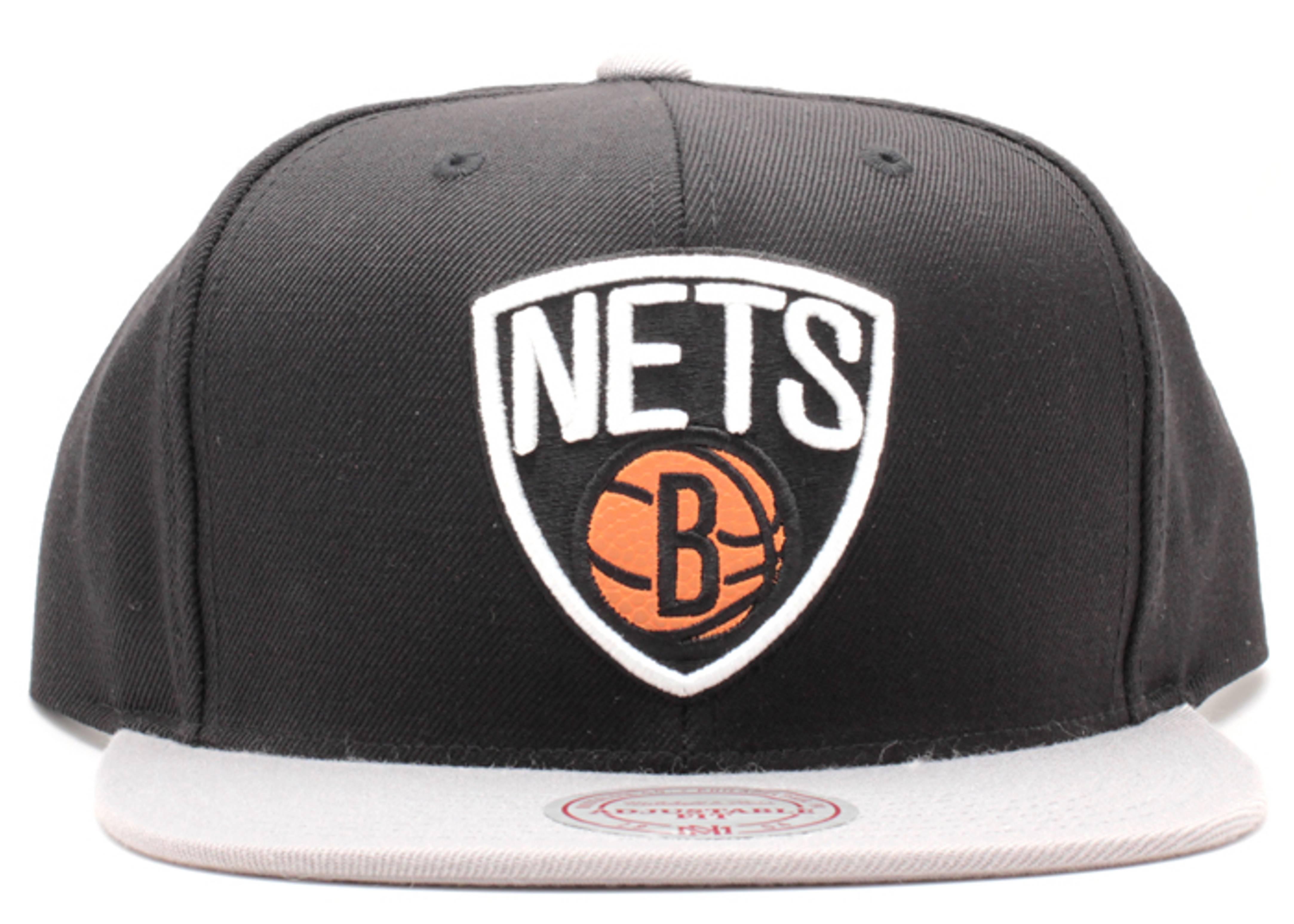"brooklyn nets snap-back ""basketball"""