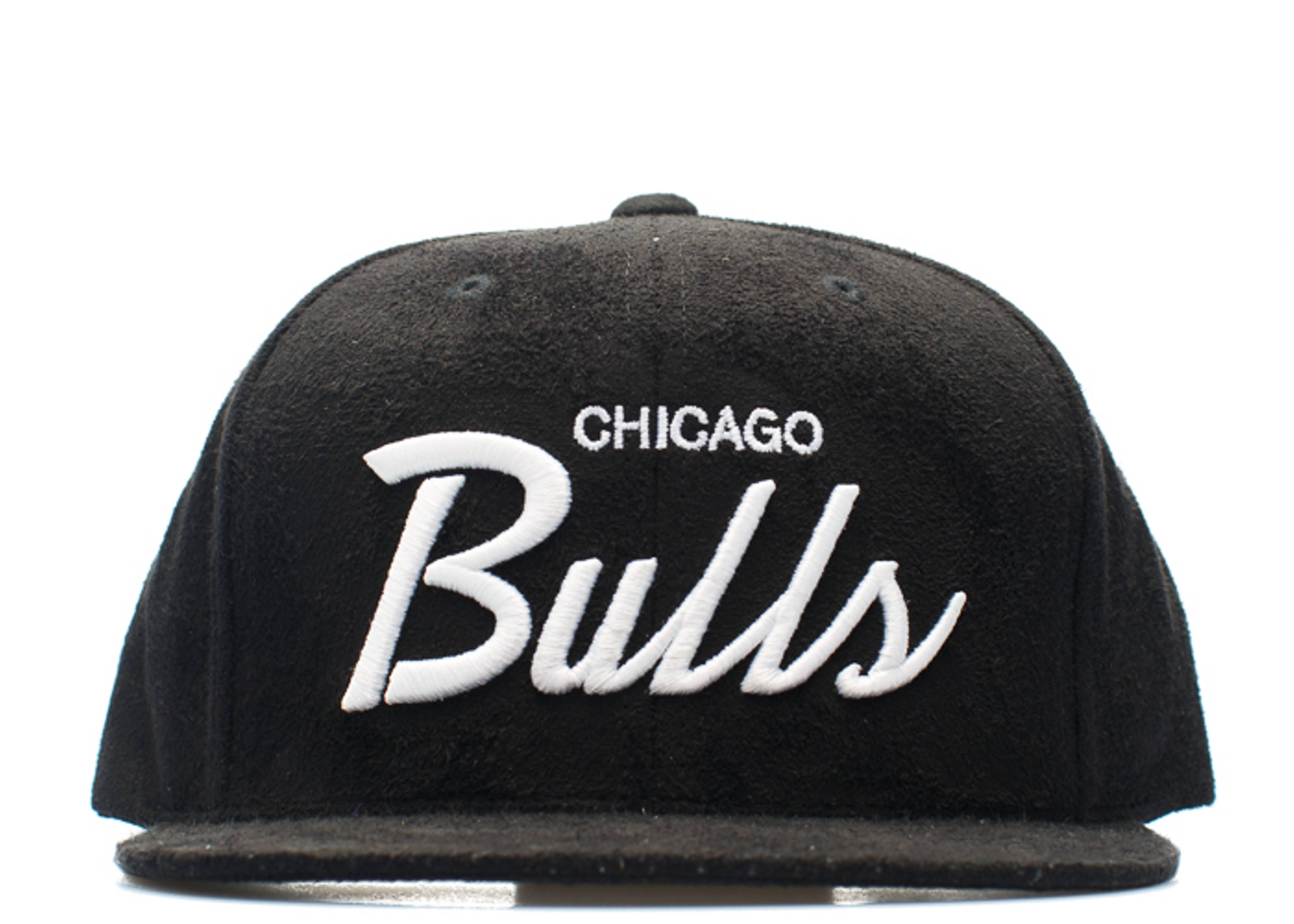 chicago bulls micro suede snap-back