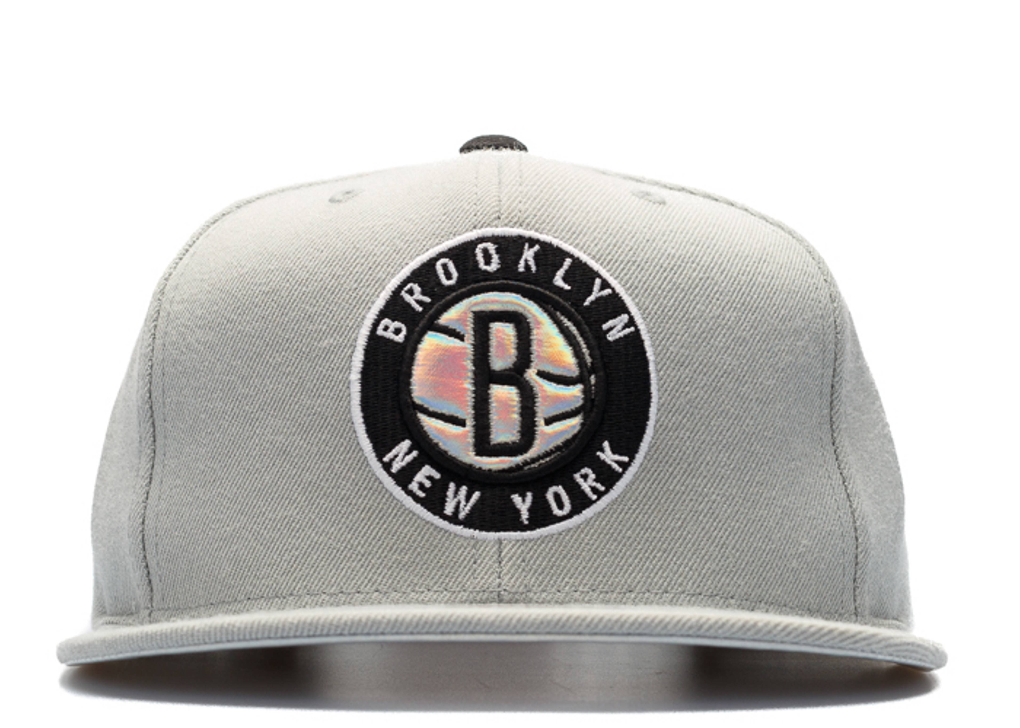 "brooklyn nets snap-back ""iridescent"""
