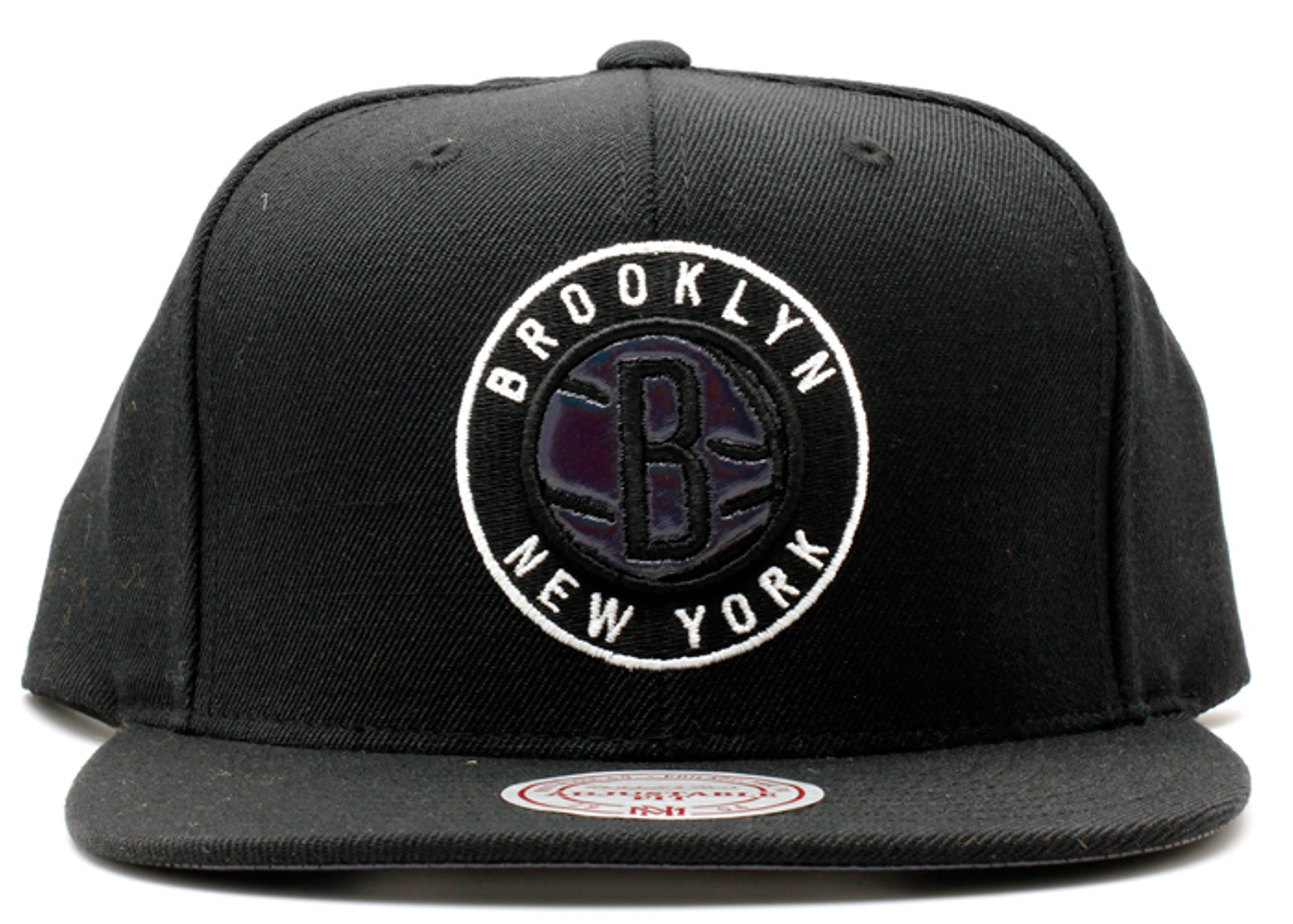 "brooklyn nets snap-back ""iridescent"""