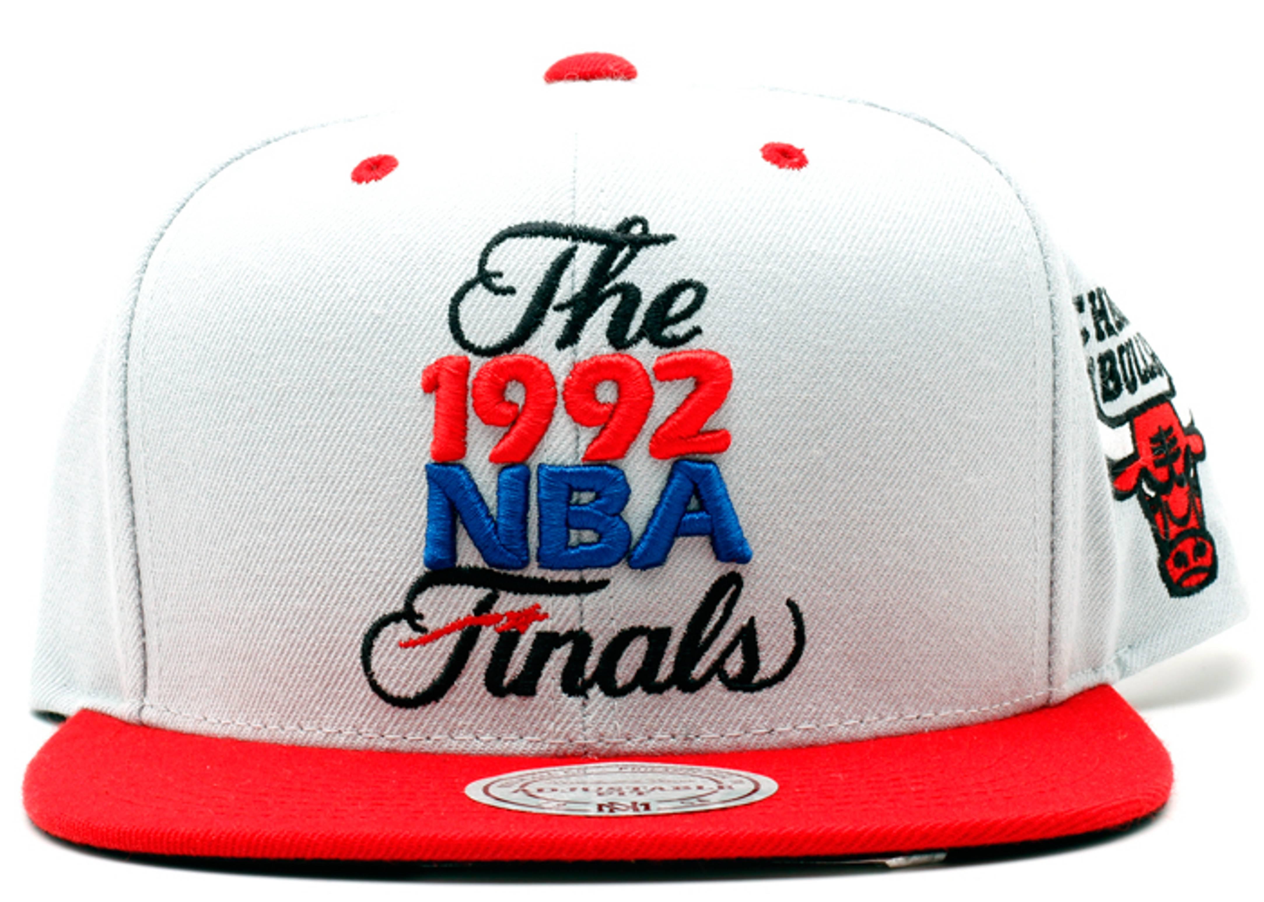 """chicago bulls snap-back """"92' nba finals"""""""