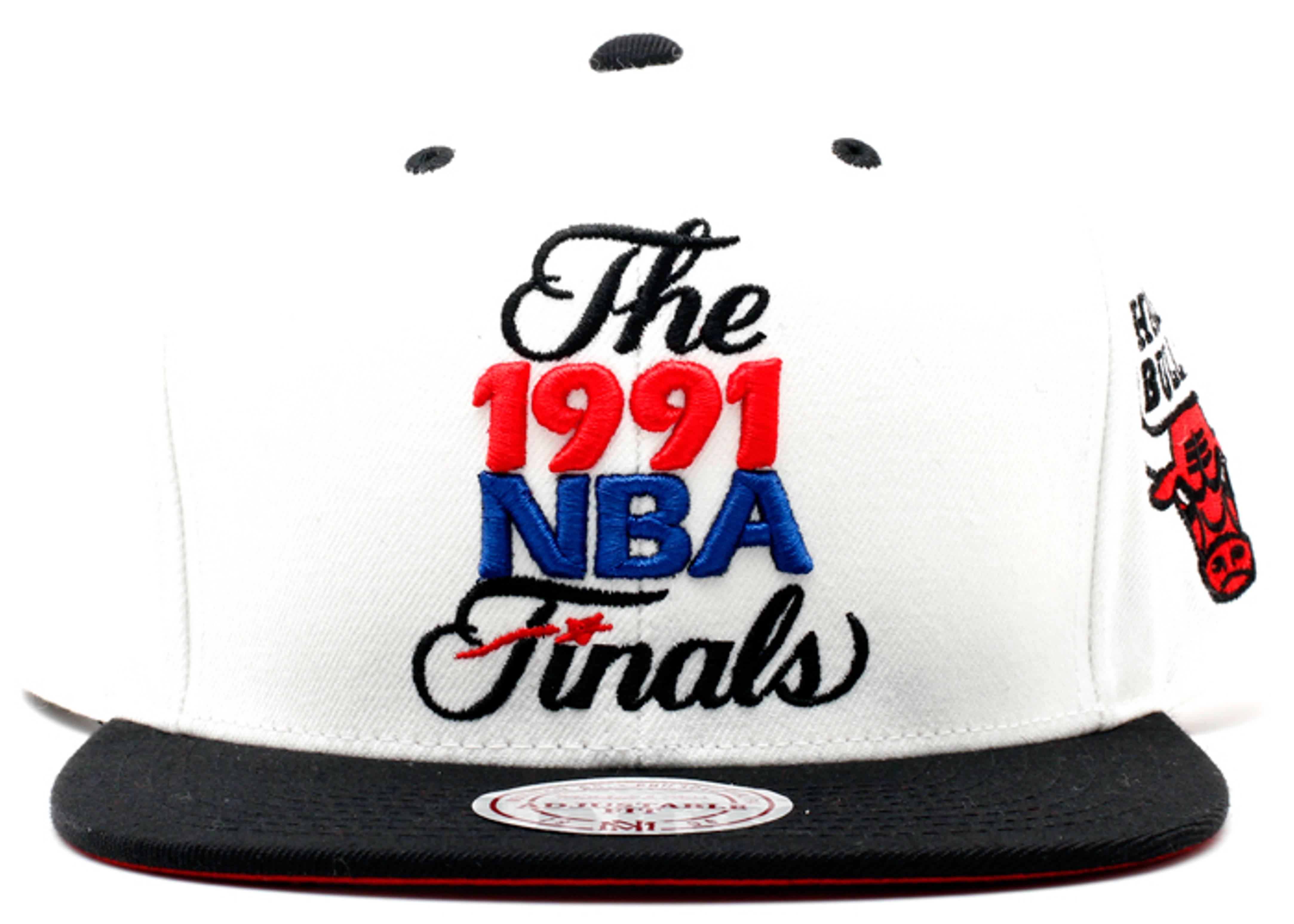 "chicago bulls snap-back ""91' finals"""