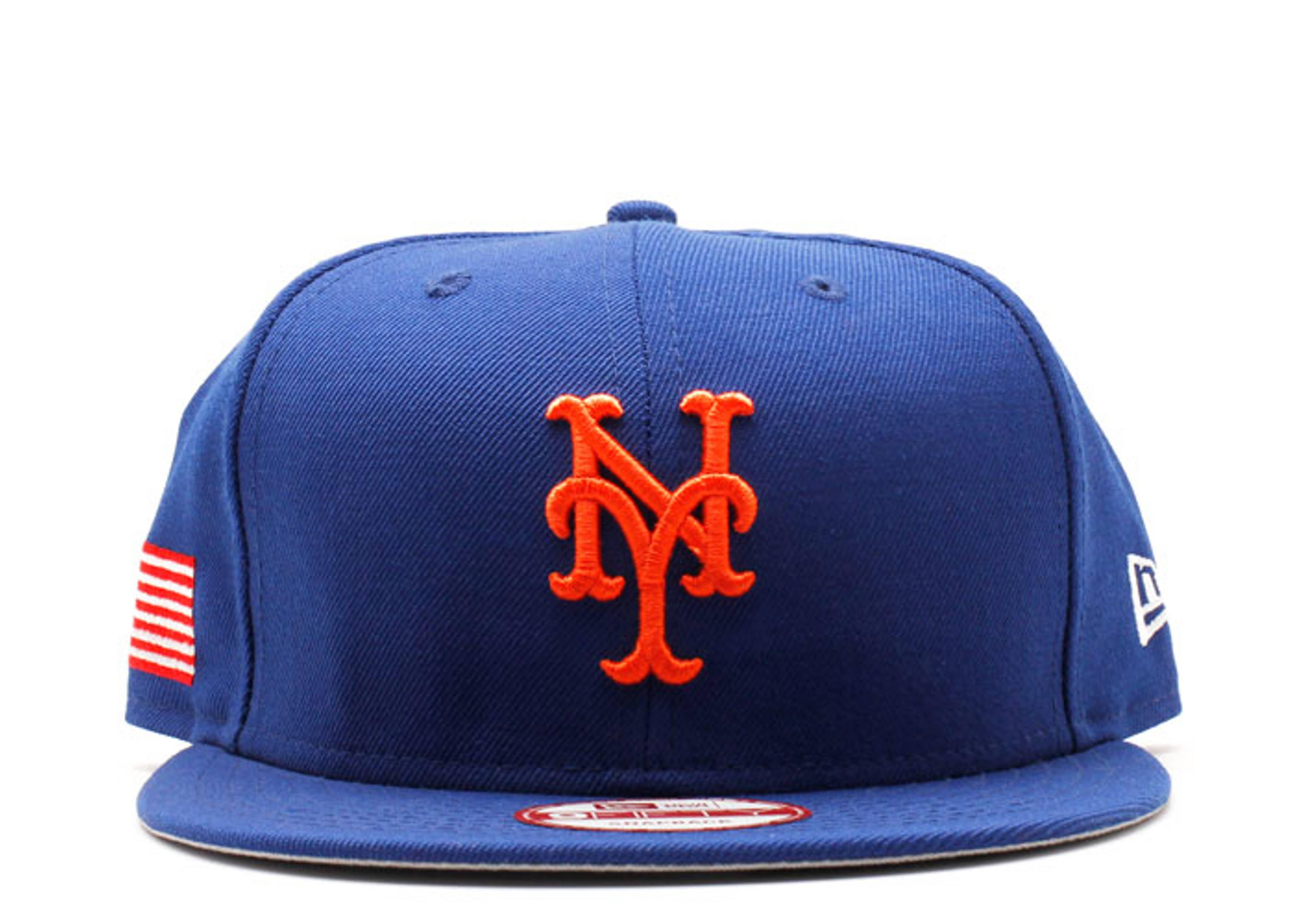 "new york mets snap-back ""u.s flag"""