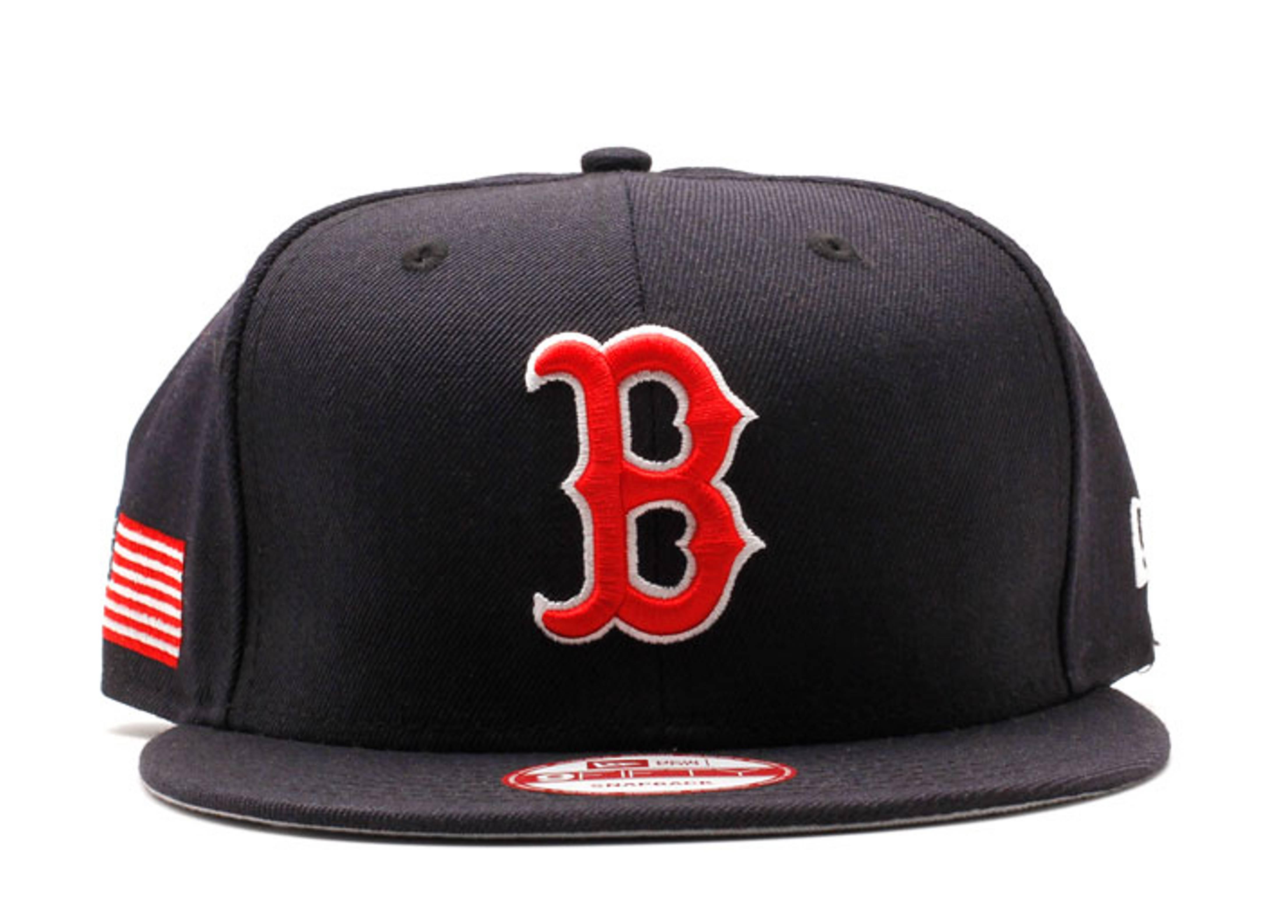 "boston red sox snap-back ""u.s flag"""