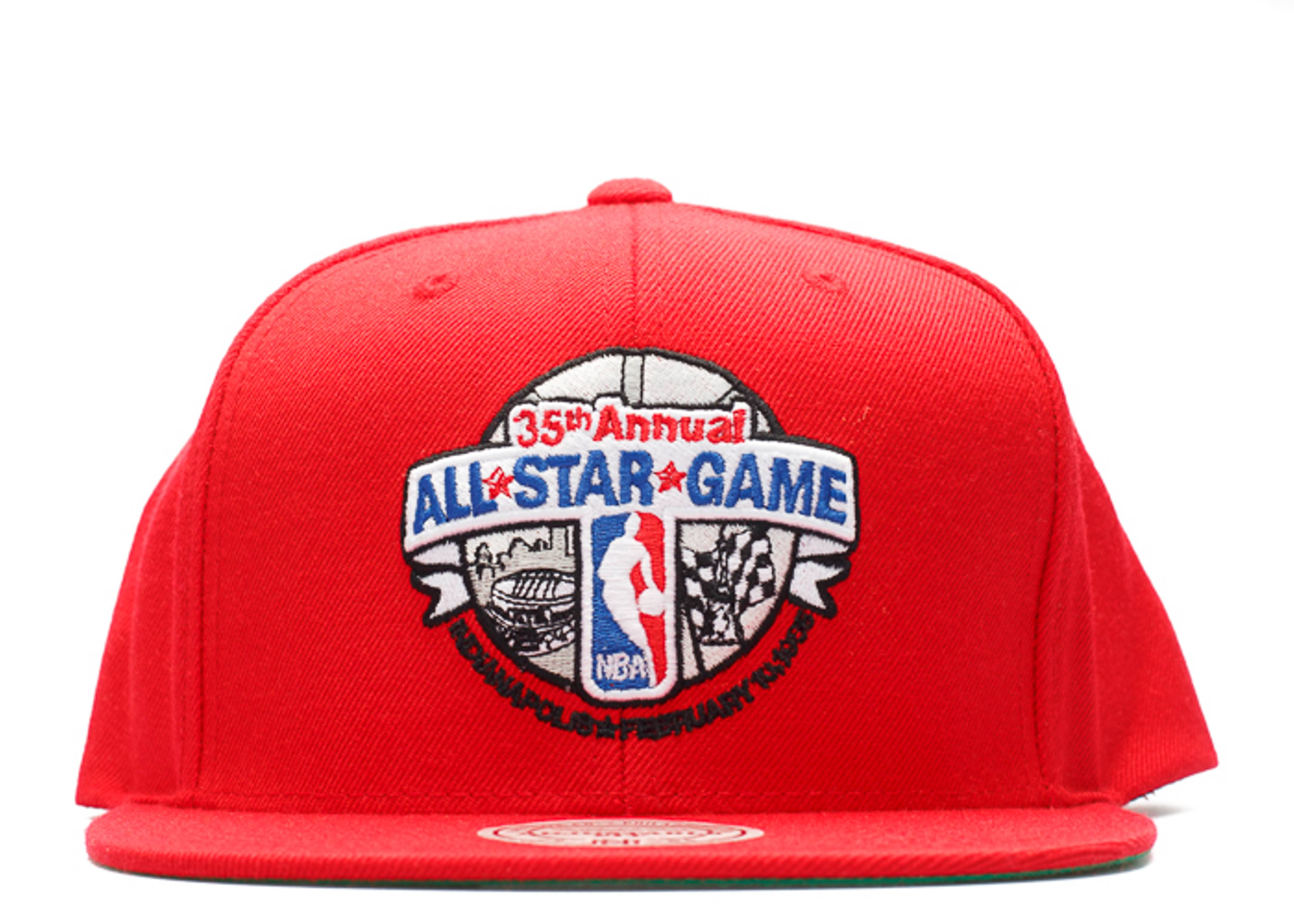 1985 nba all-star game snap-back