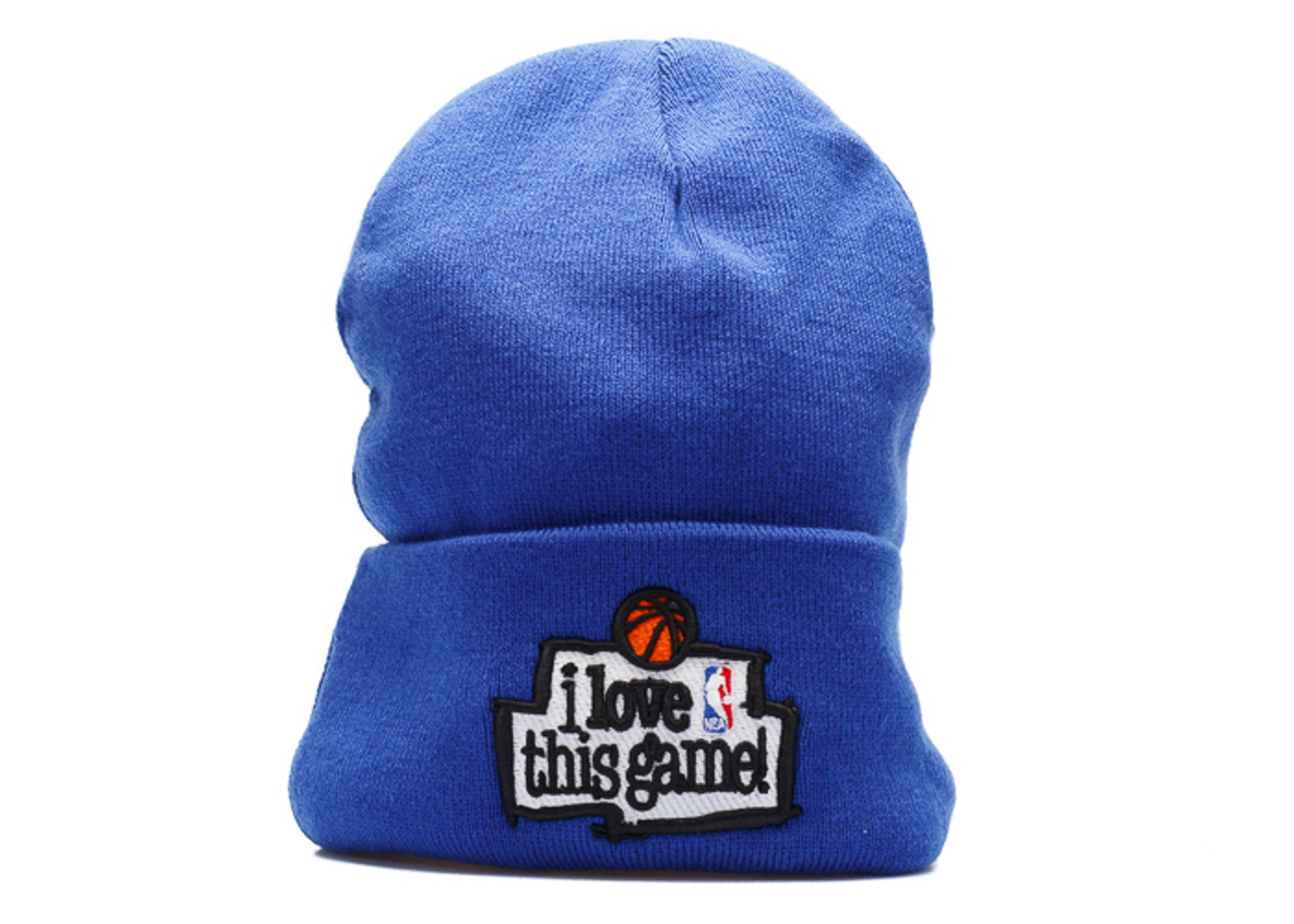 "1998 all-star game cuffed beanie ""i love this game"""