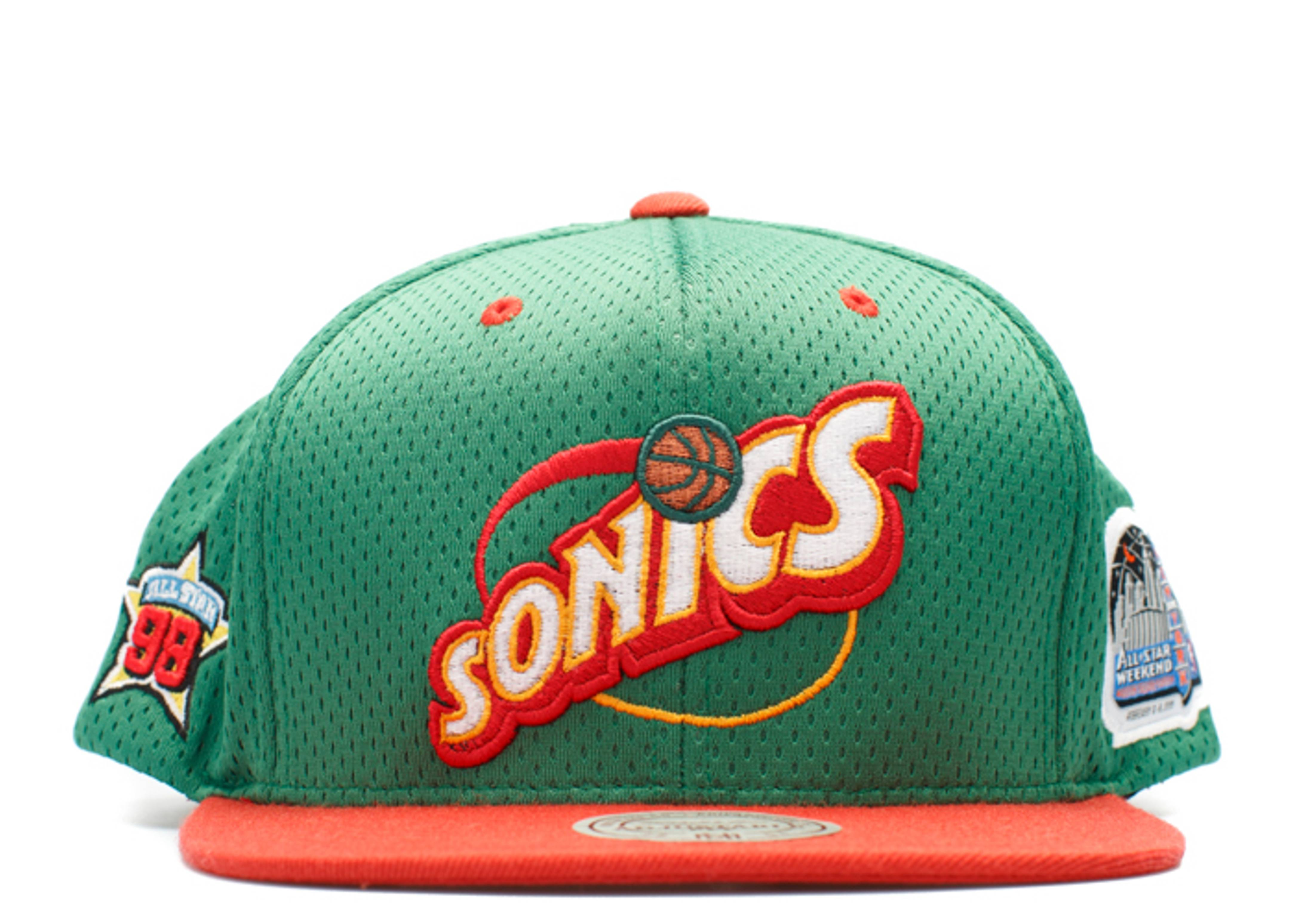 """seattle super sonics snap-back """"98' all-star game"""""""