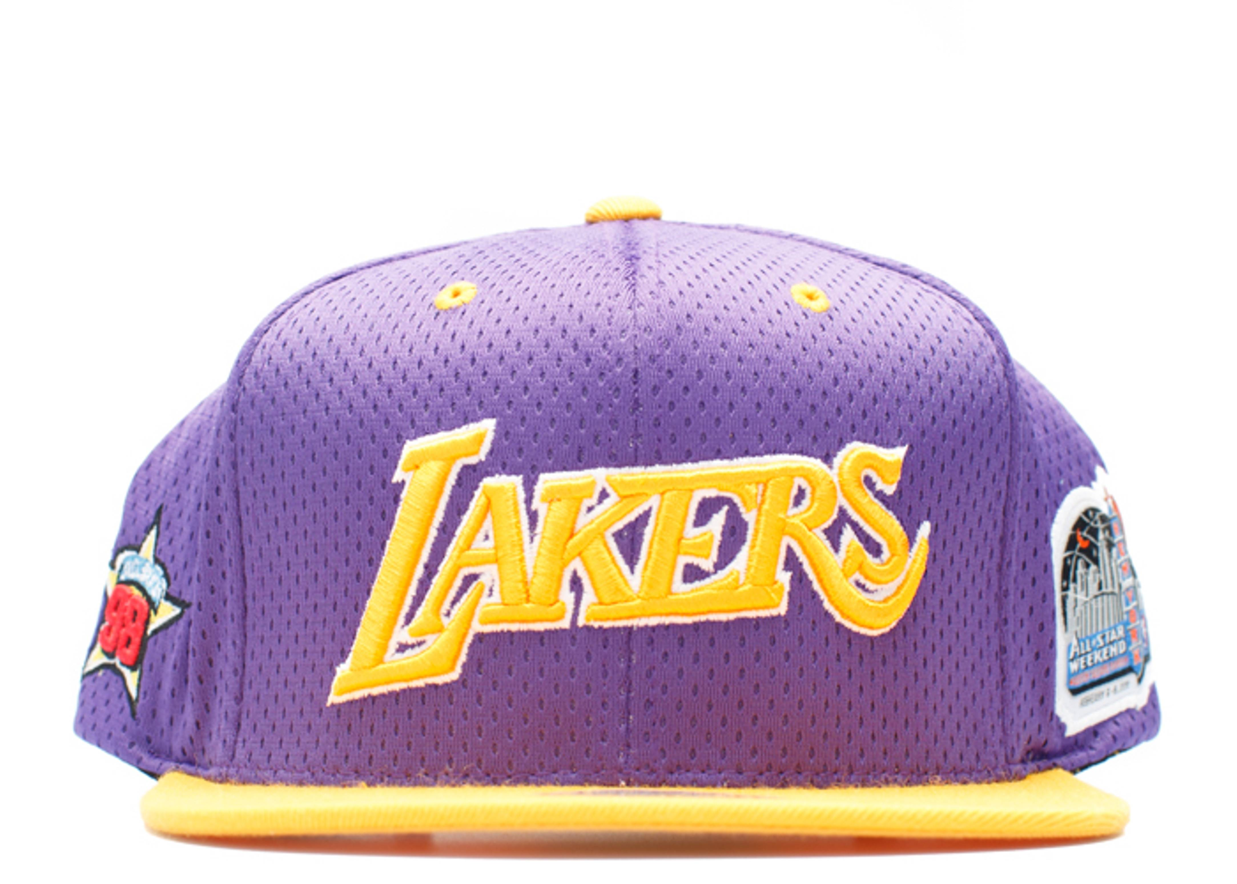 "los angeles lakers snap-back ""98' all-star game"""