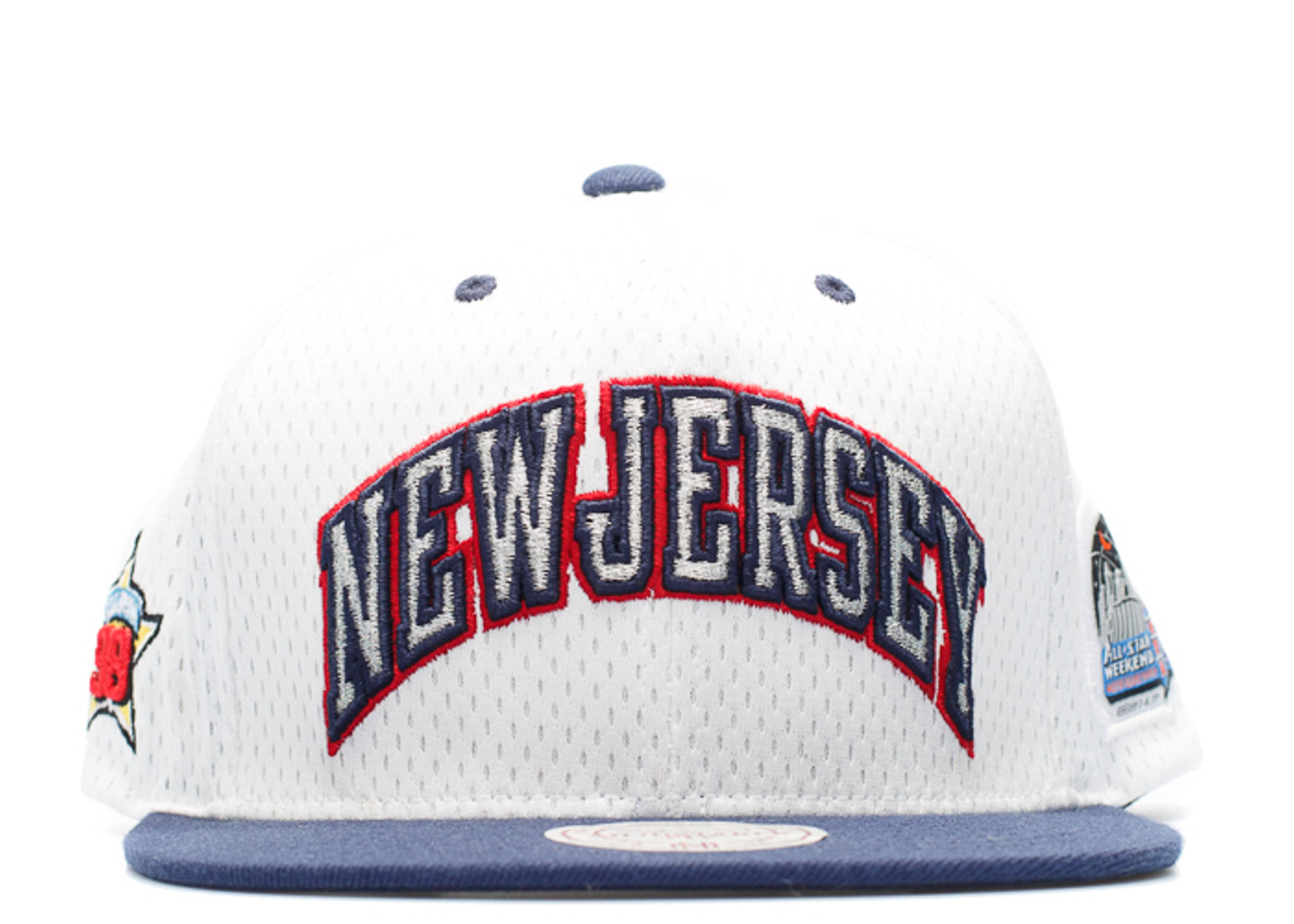 """new jersey nets snap-back """"98' all-star game"""""""