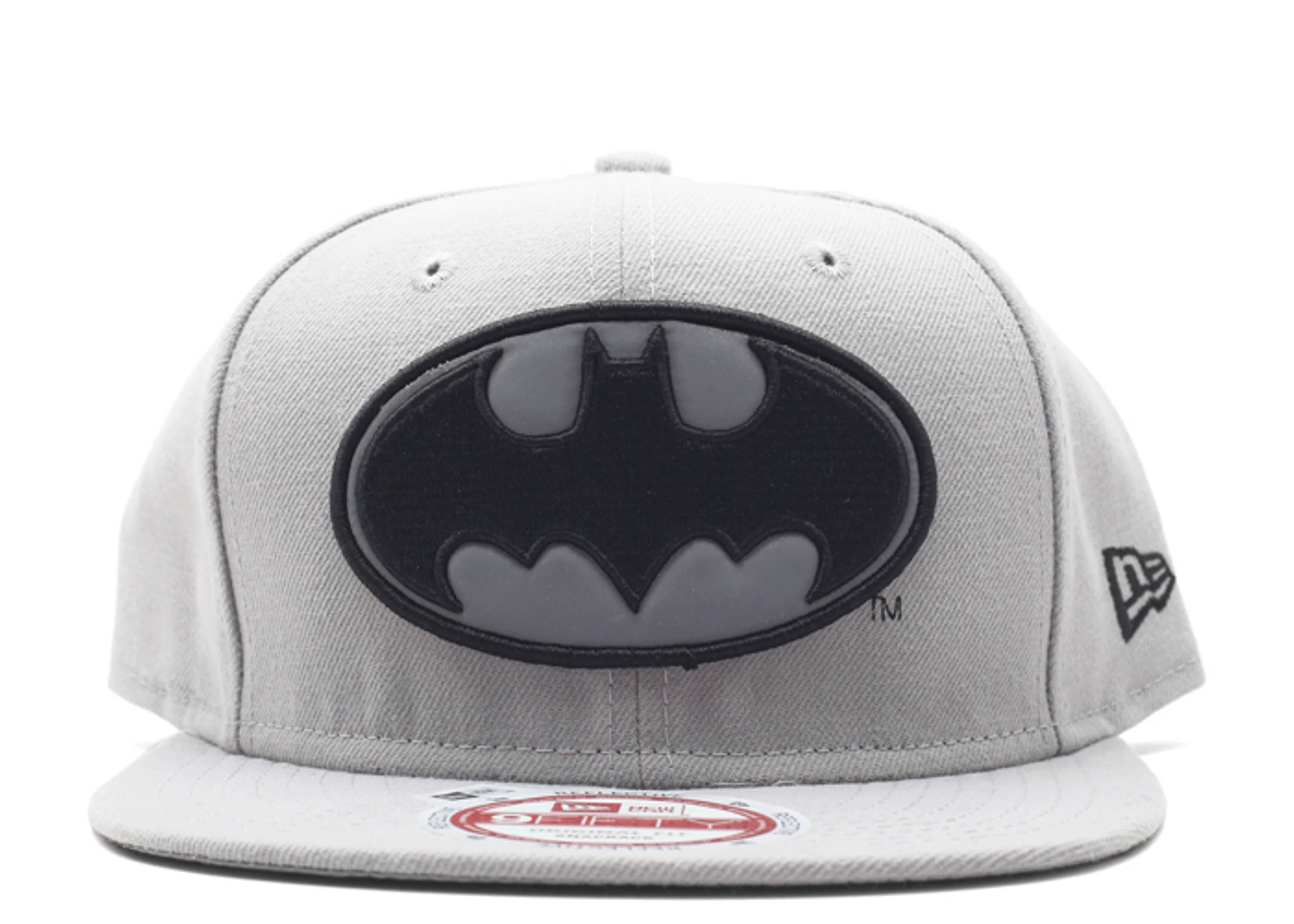 batman 3m logo snap-back