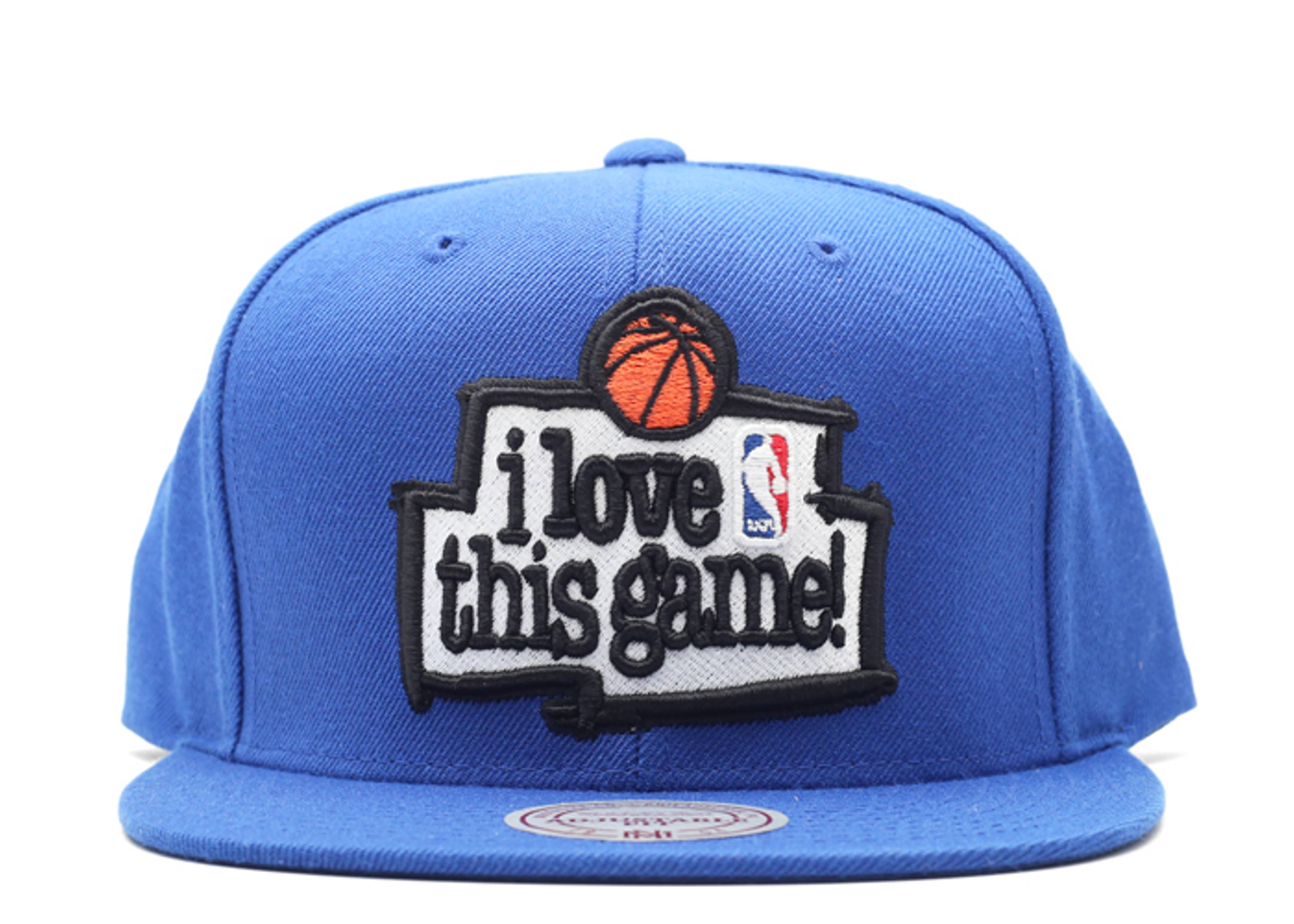 """i love this game snap-back """"1998 all-star game"""""""