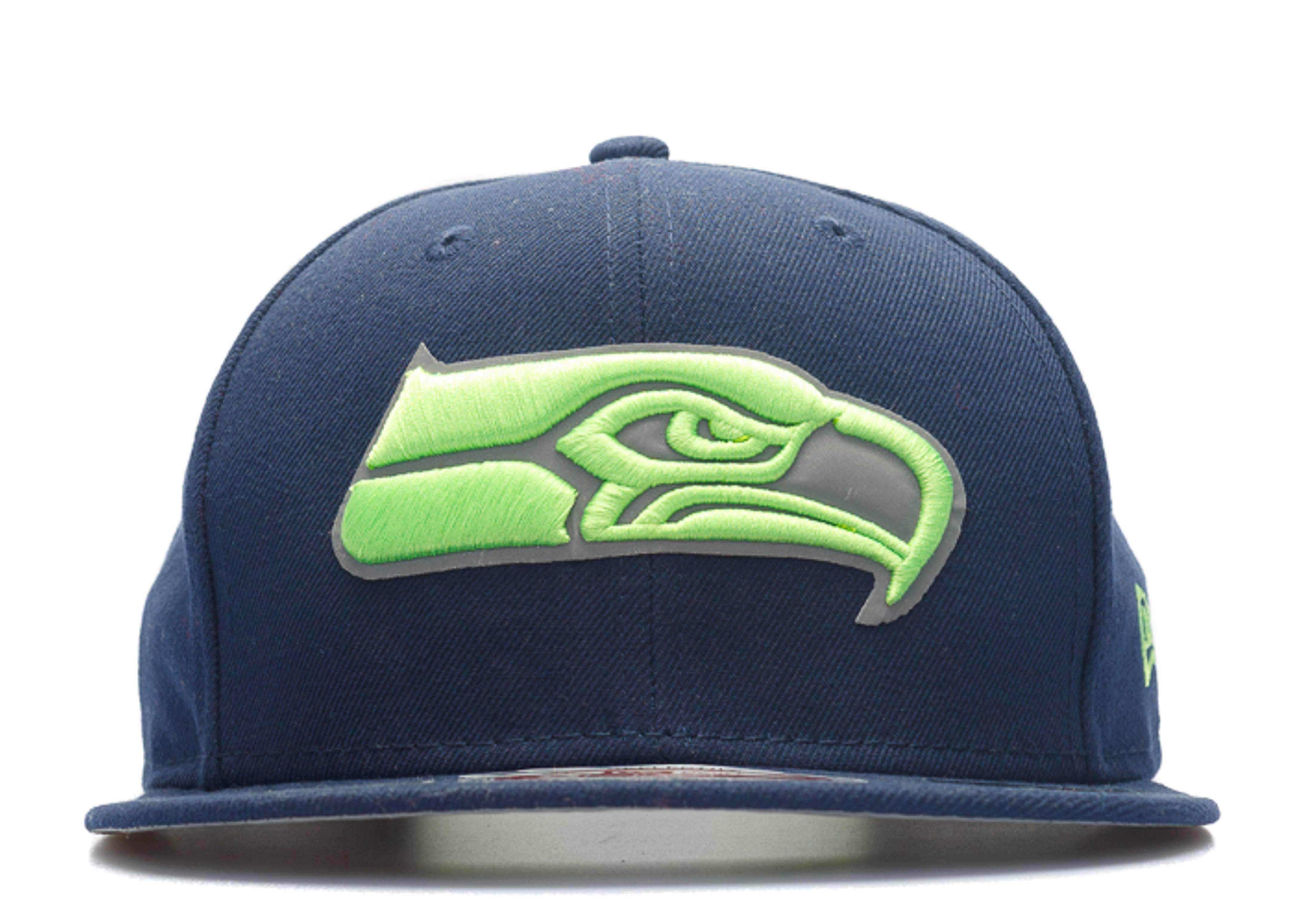 """seattle seahawks snap-back """"3m logo"""""""