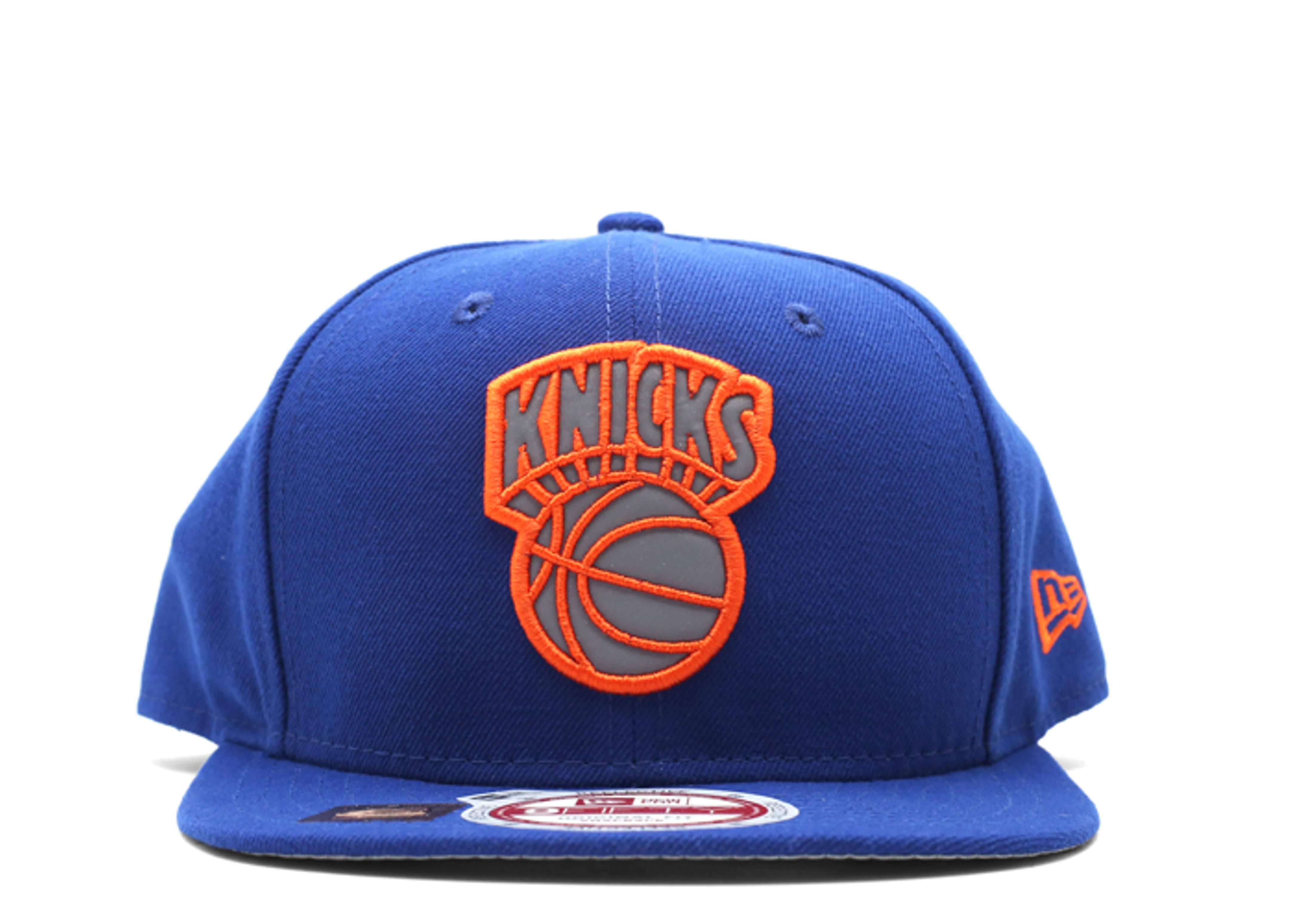 "new york knicks snap-back ""3m logo"""