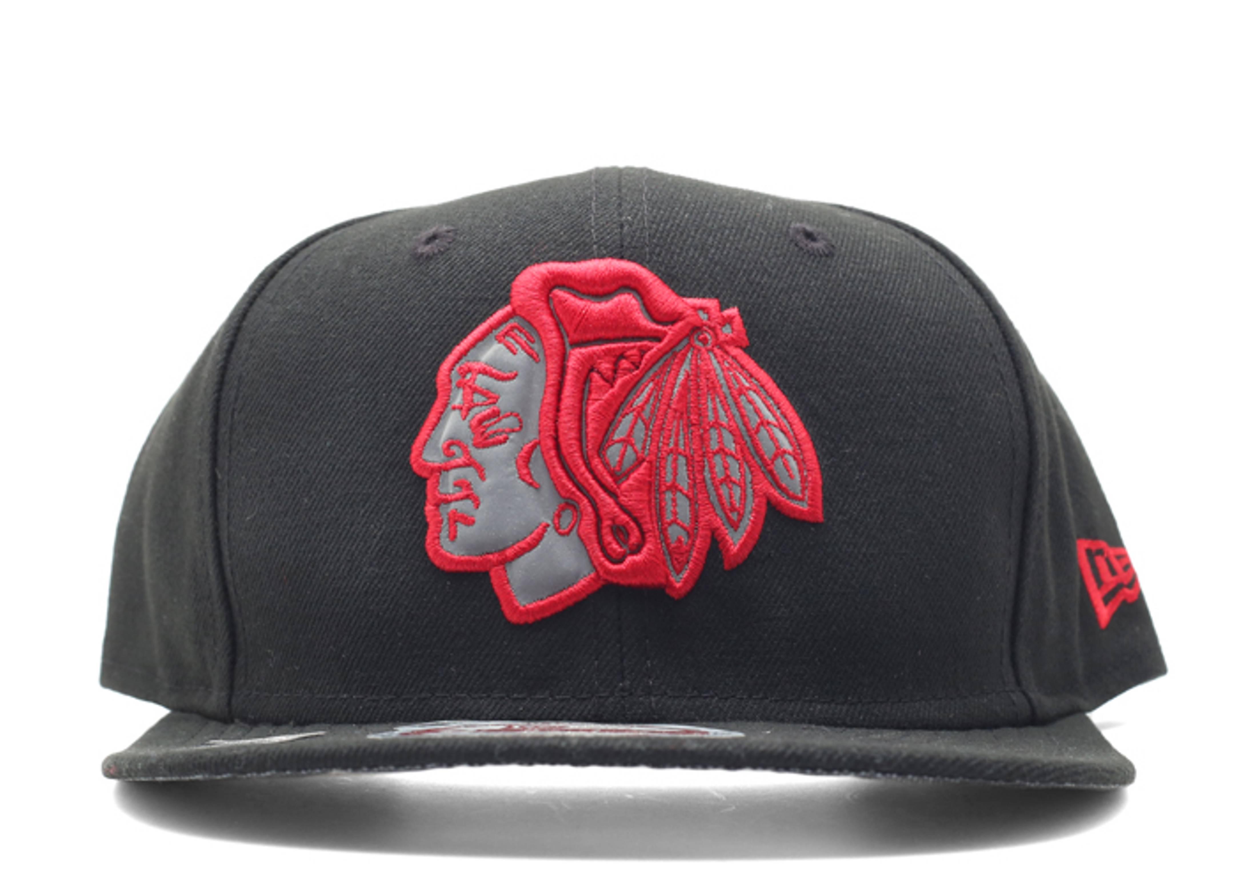 "chicago blackhawks snap-back ""3m logo"""