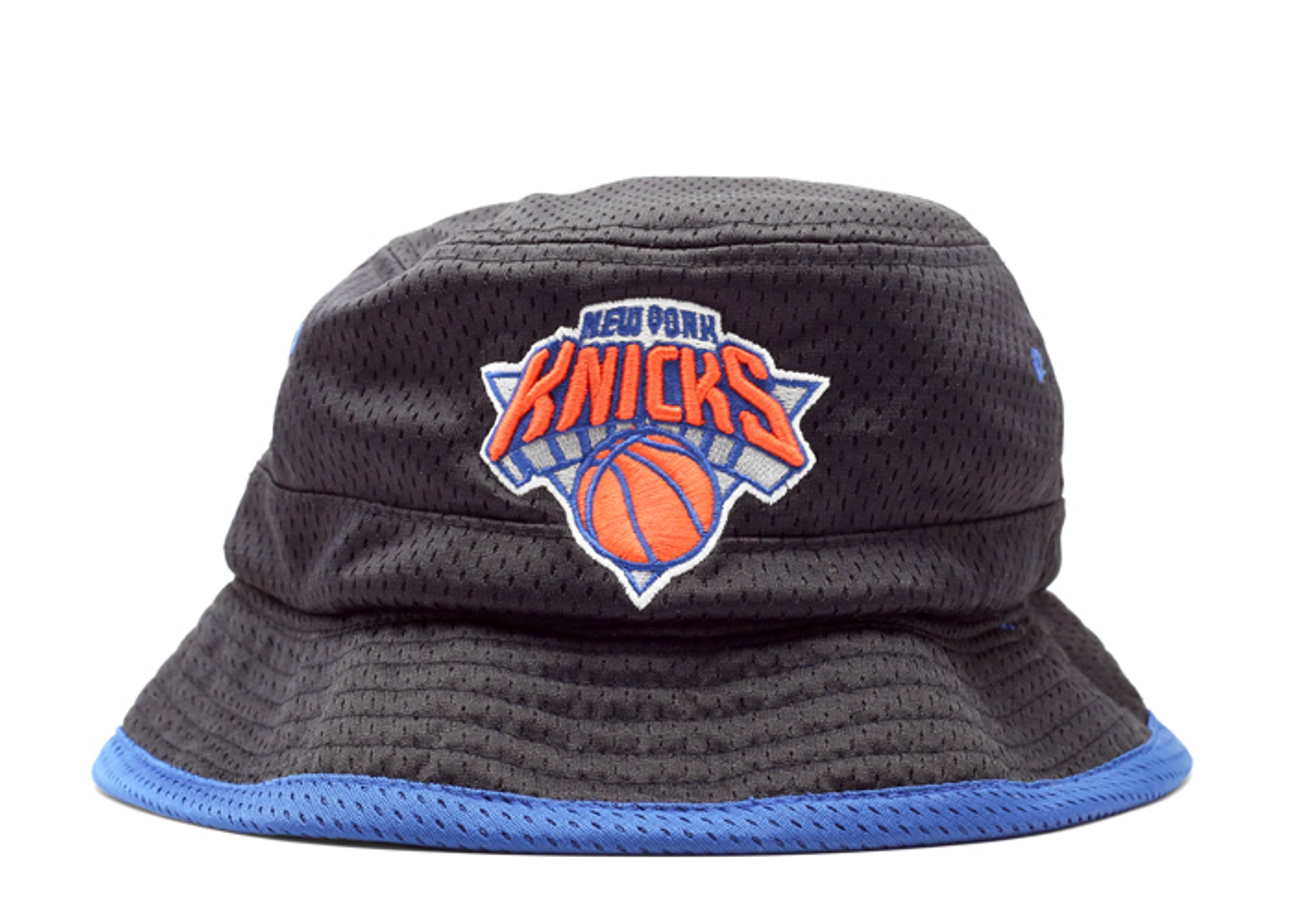 "new york knicks reversible bucket hat ""old love/ new love"""