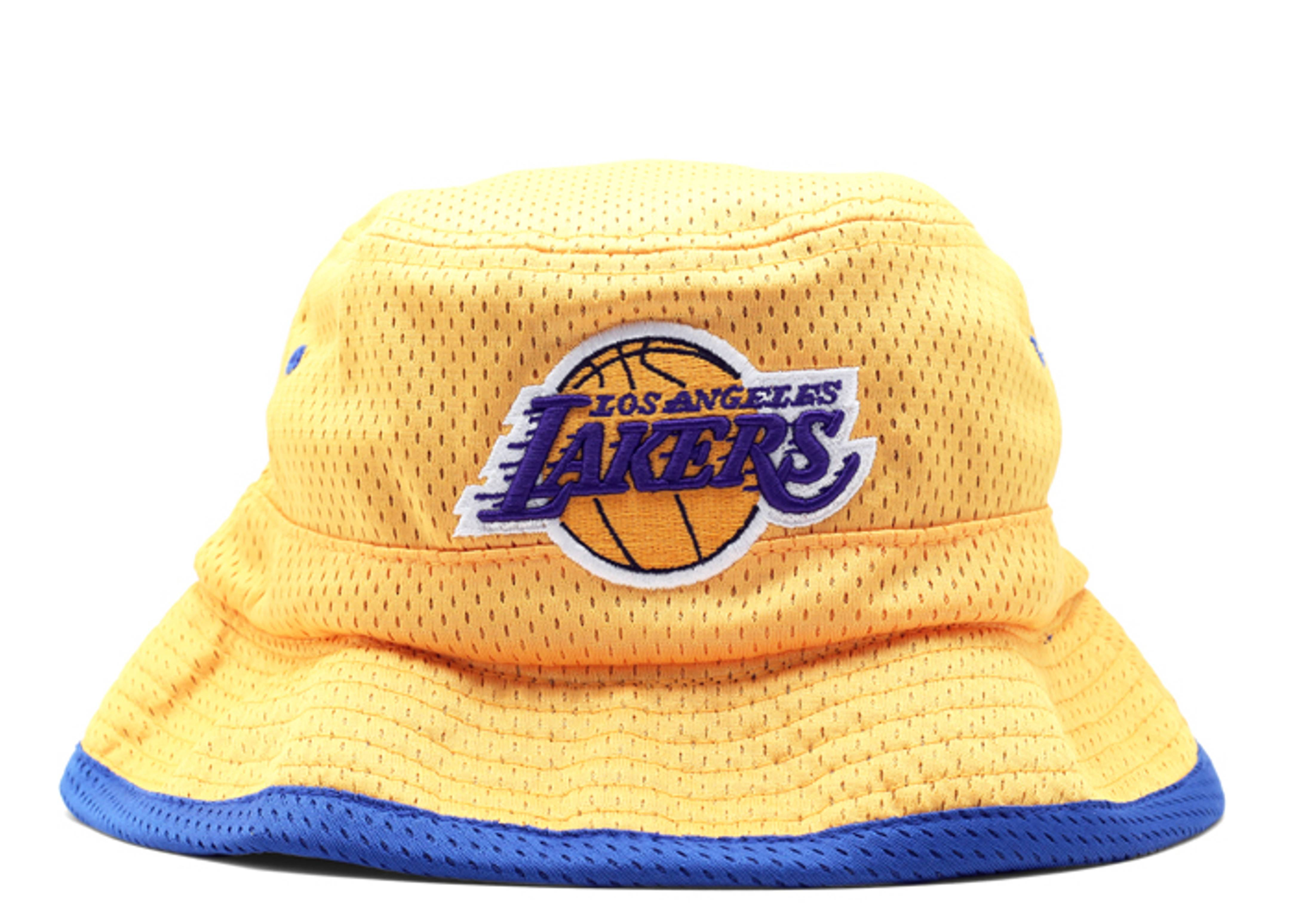 dfd3a379700 Los Angeles Lakers Reversible Bucket Hat