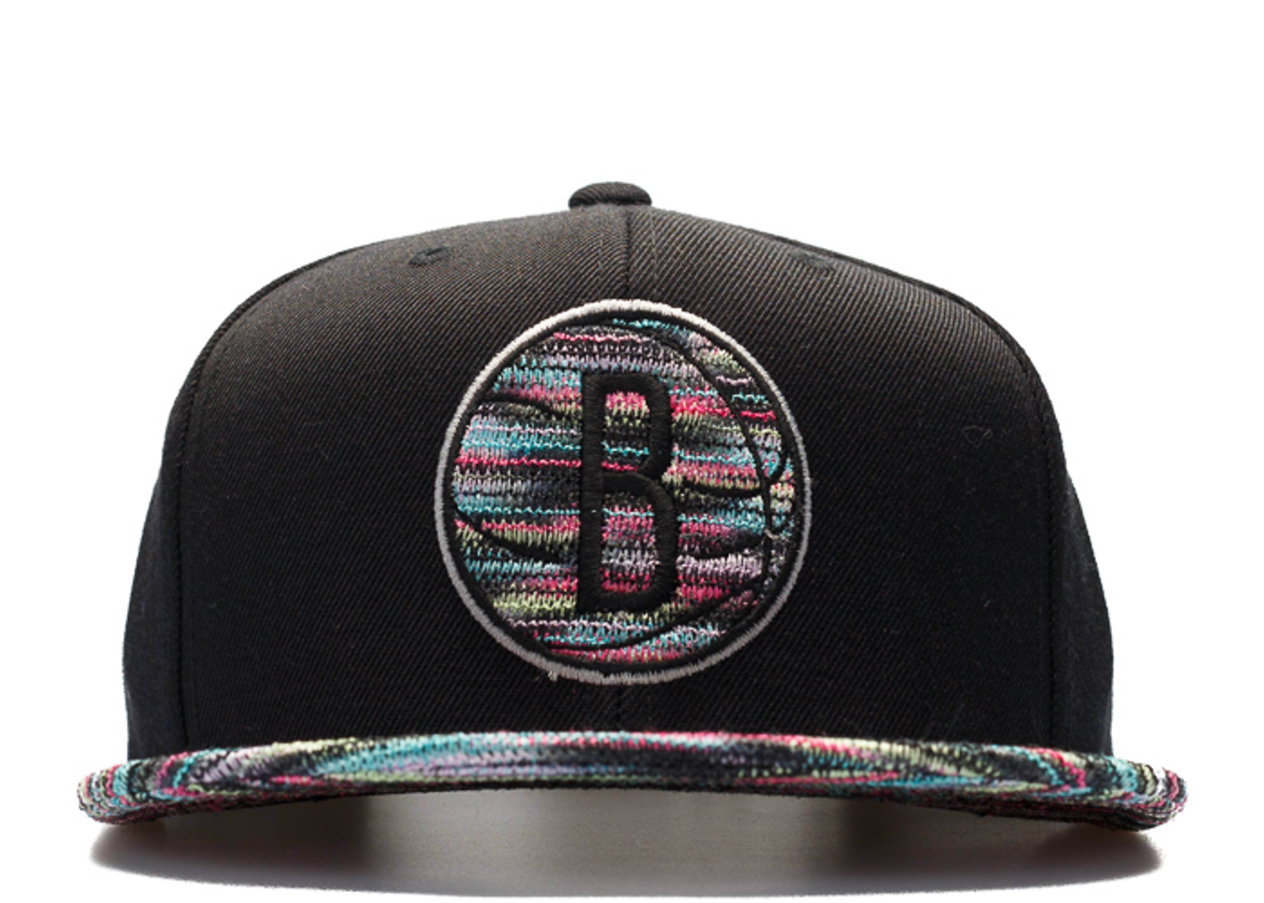 "brooklyn nets snap-back ""flyknit"""
