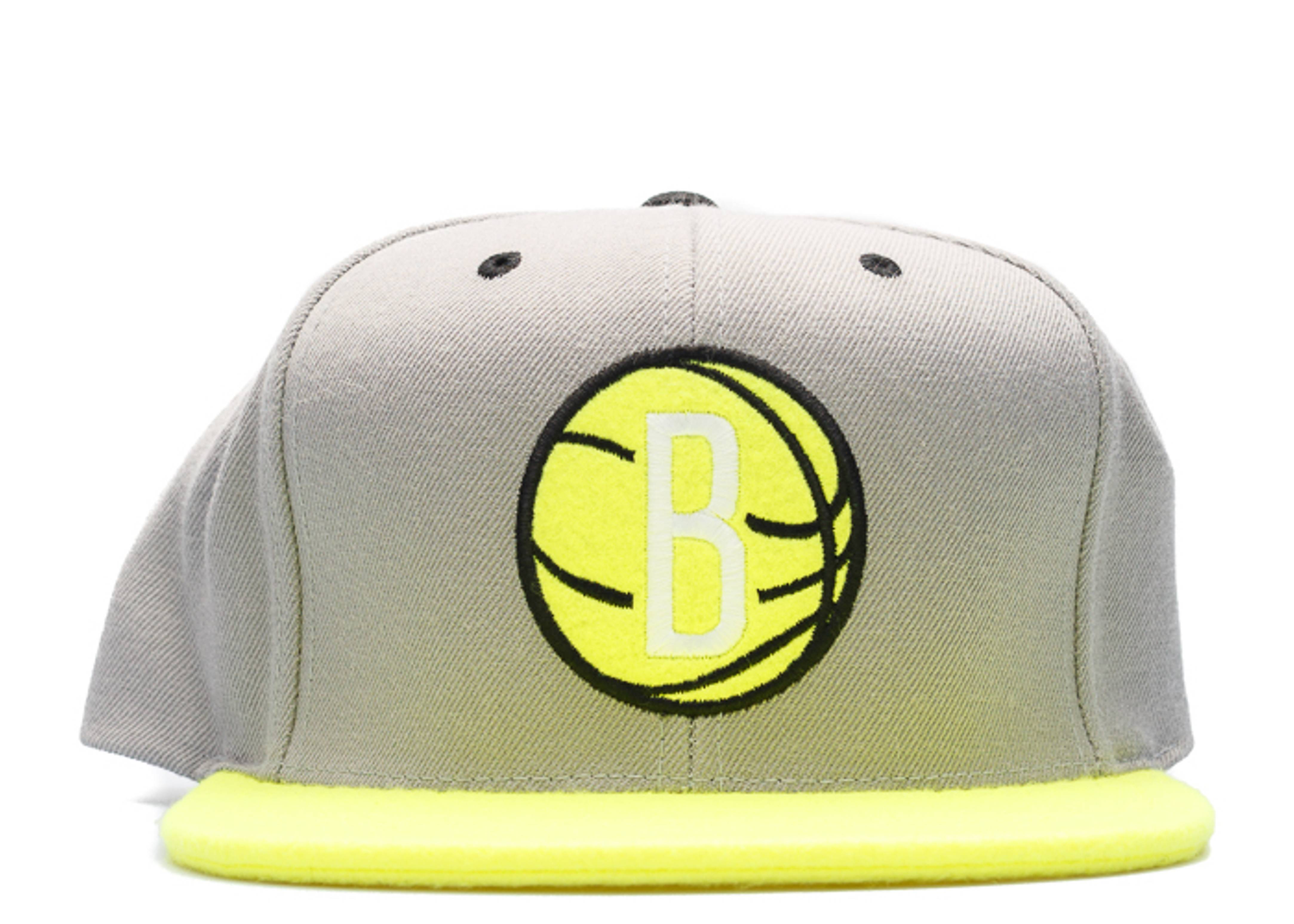 "brooklyn nets snap-back ""tennis ball"""