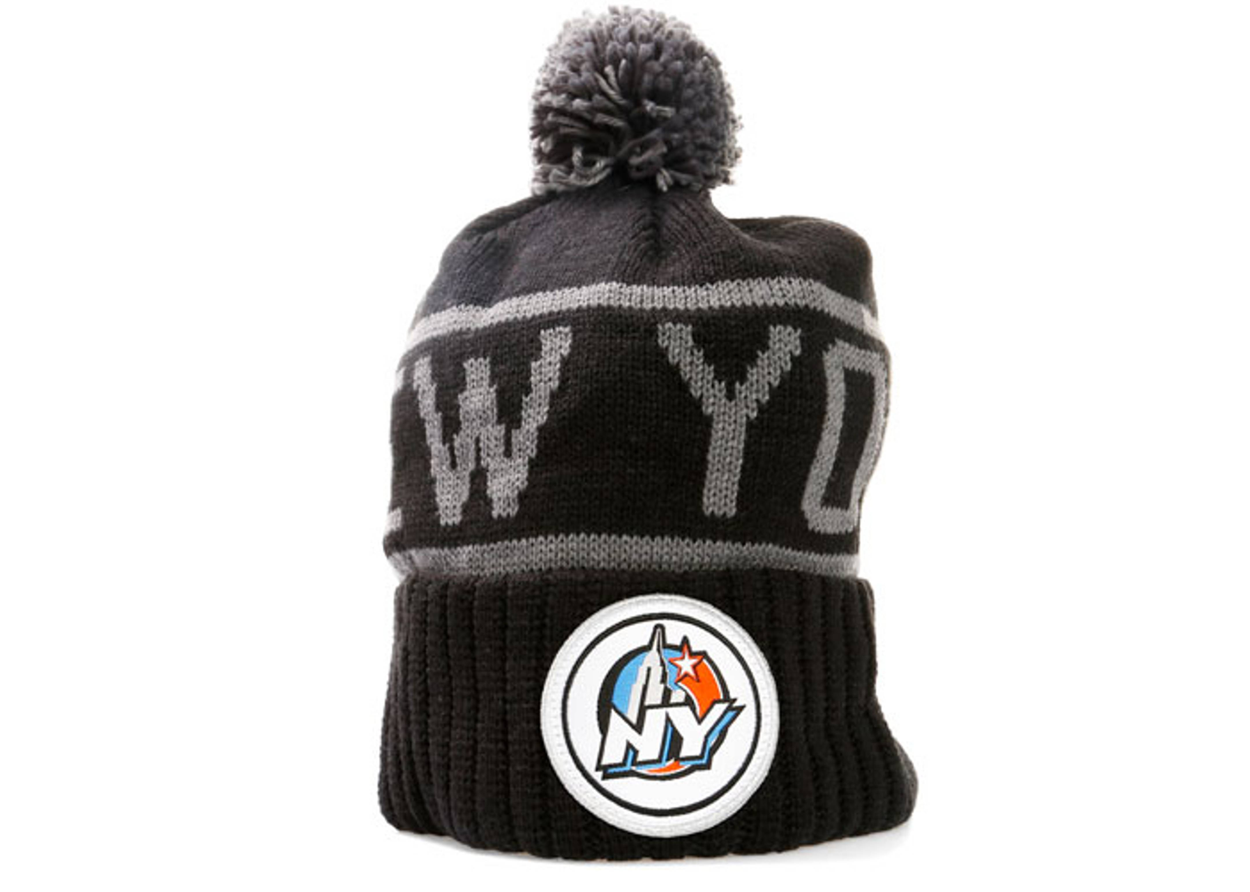 1998 all-star game cuffed pom knit beanie