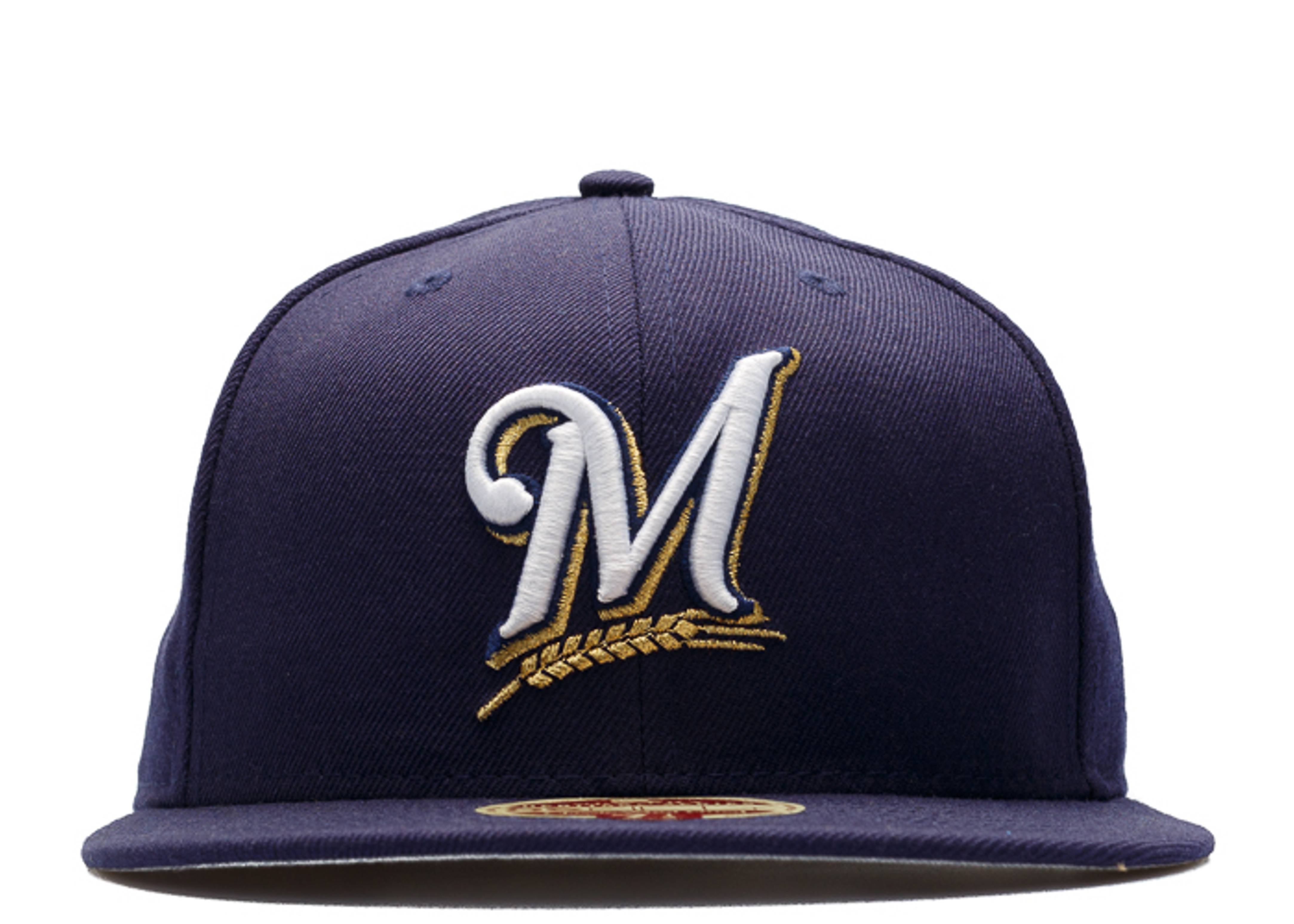 "milwaukee brewers fitted ""heritage series"""
