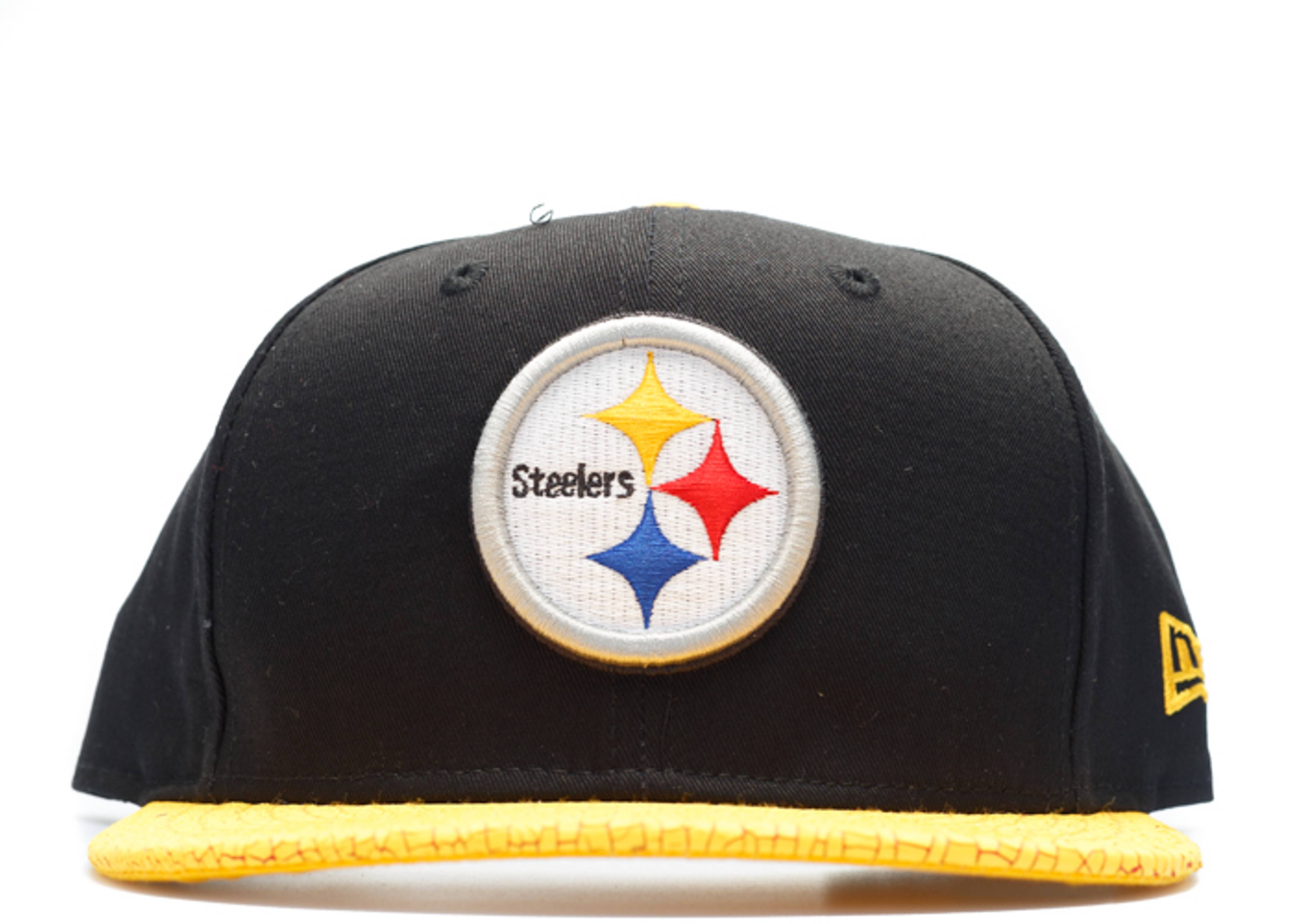 pittsburgh steelers crackle snap-back