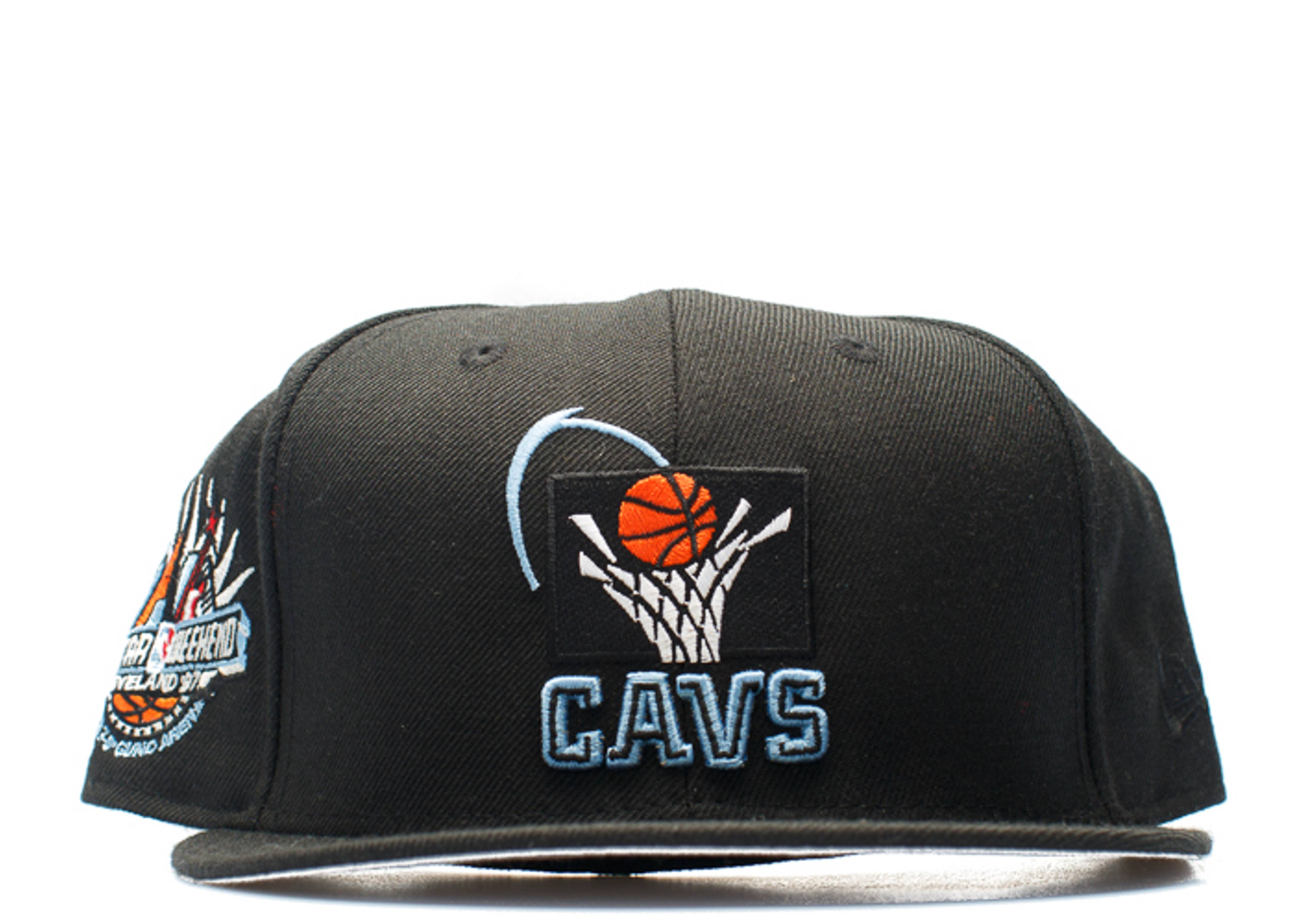 "cleveland cavaliers fitted ""97' all-star weekend"""