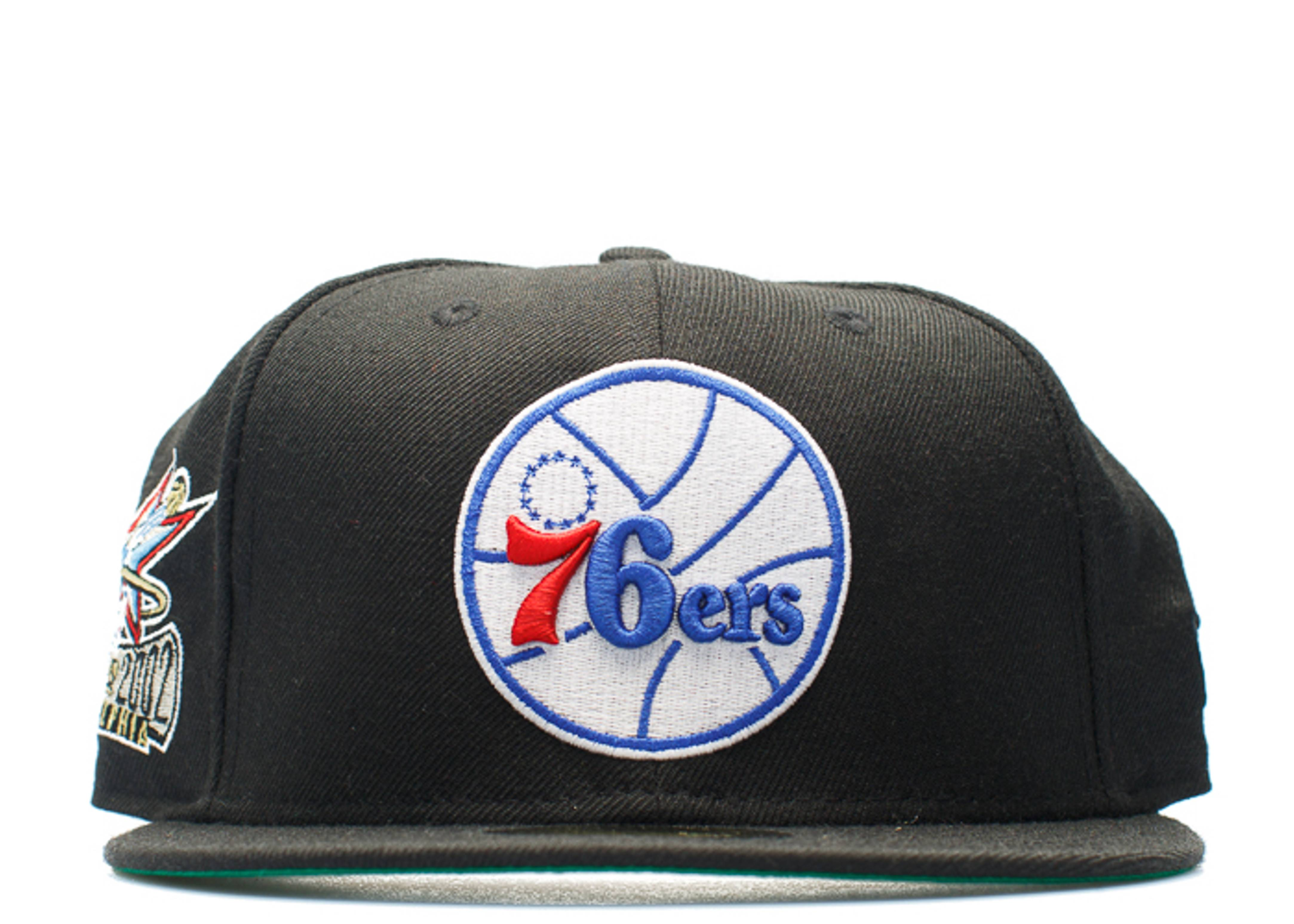 """philadelphia 76ers fitted """"2002 all-star weekend"""""""