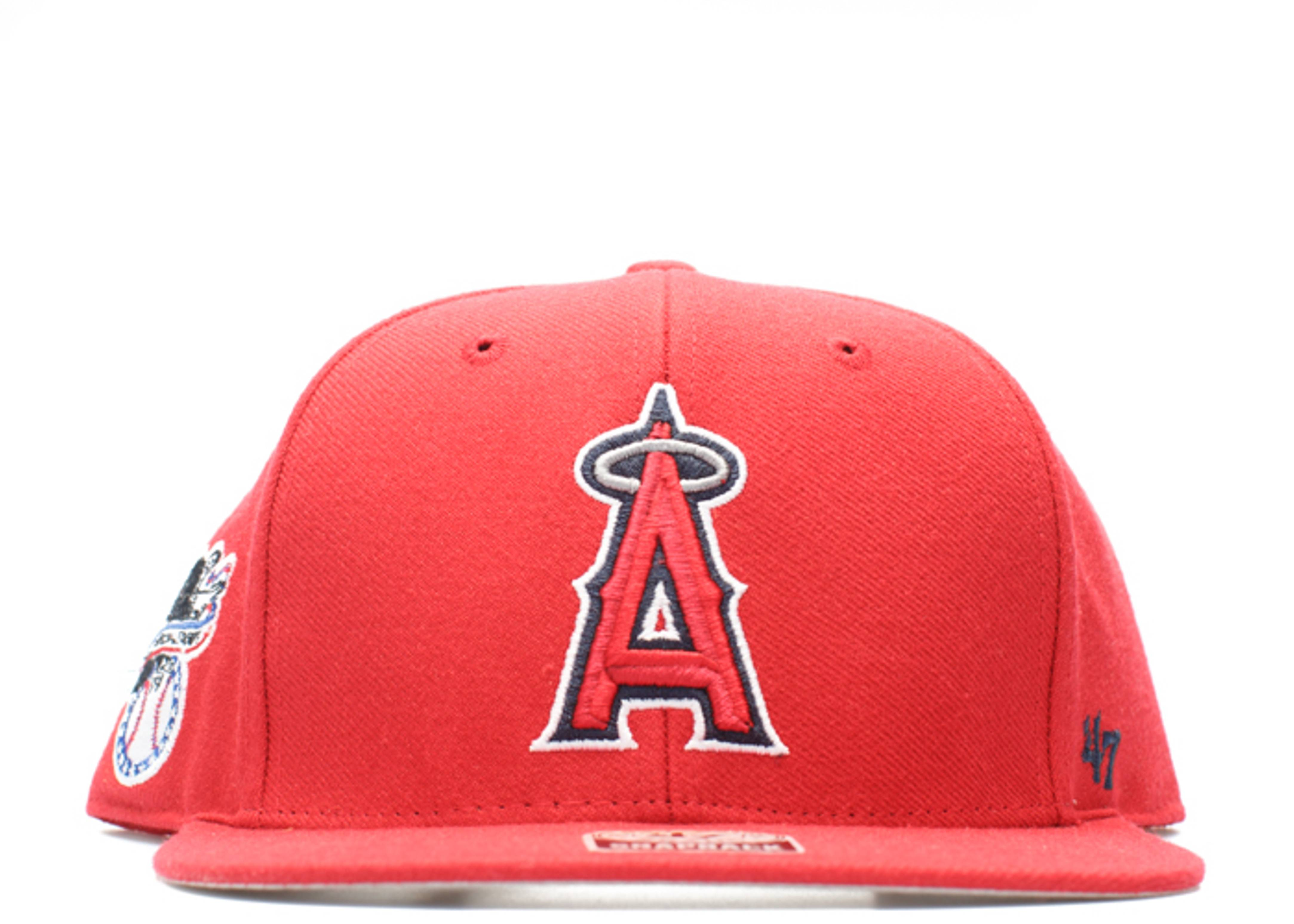 """anaheim angels snap-back """"american league side patch"""""""