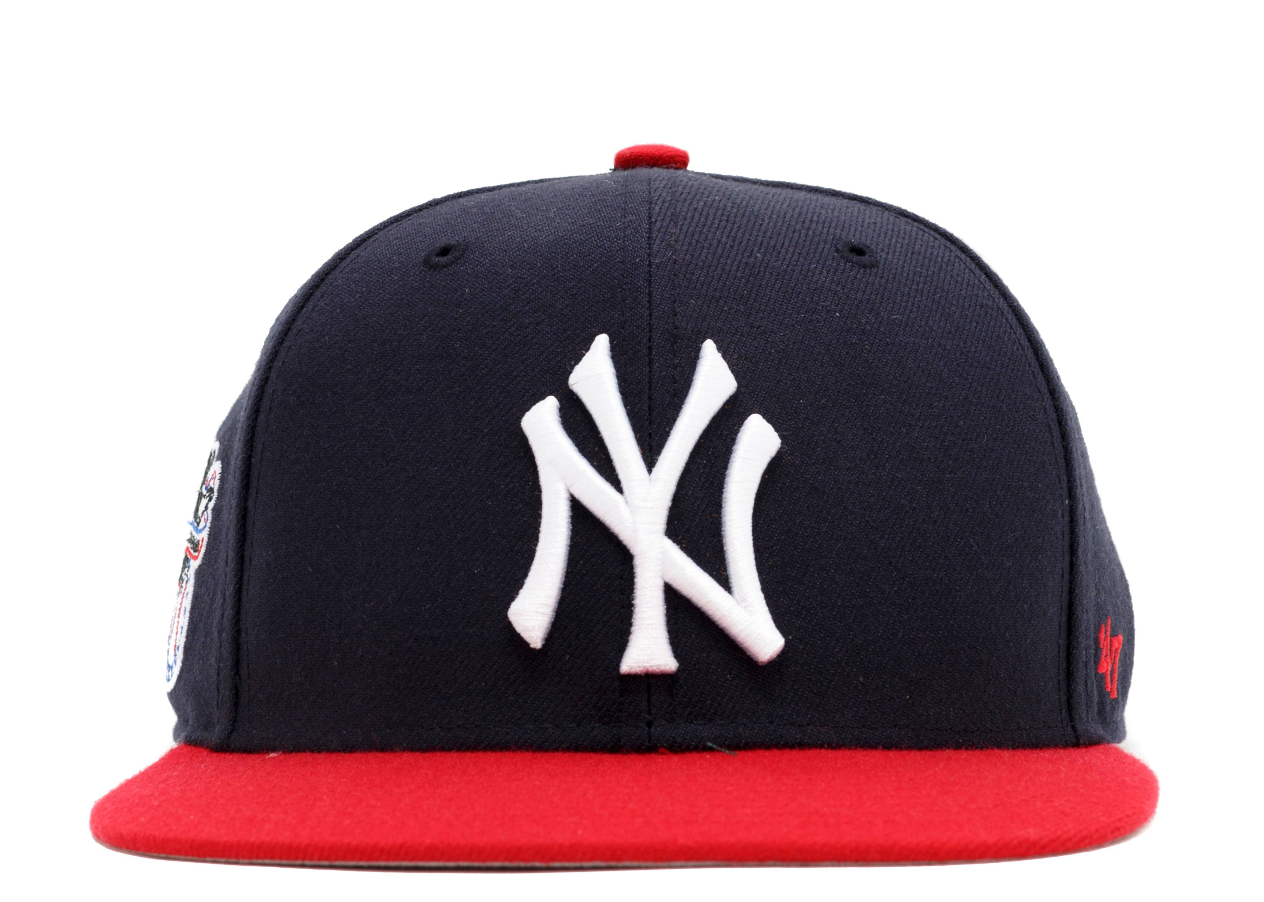 "new york yankees snap-back ""american league side patch"""