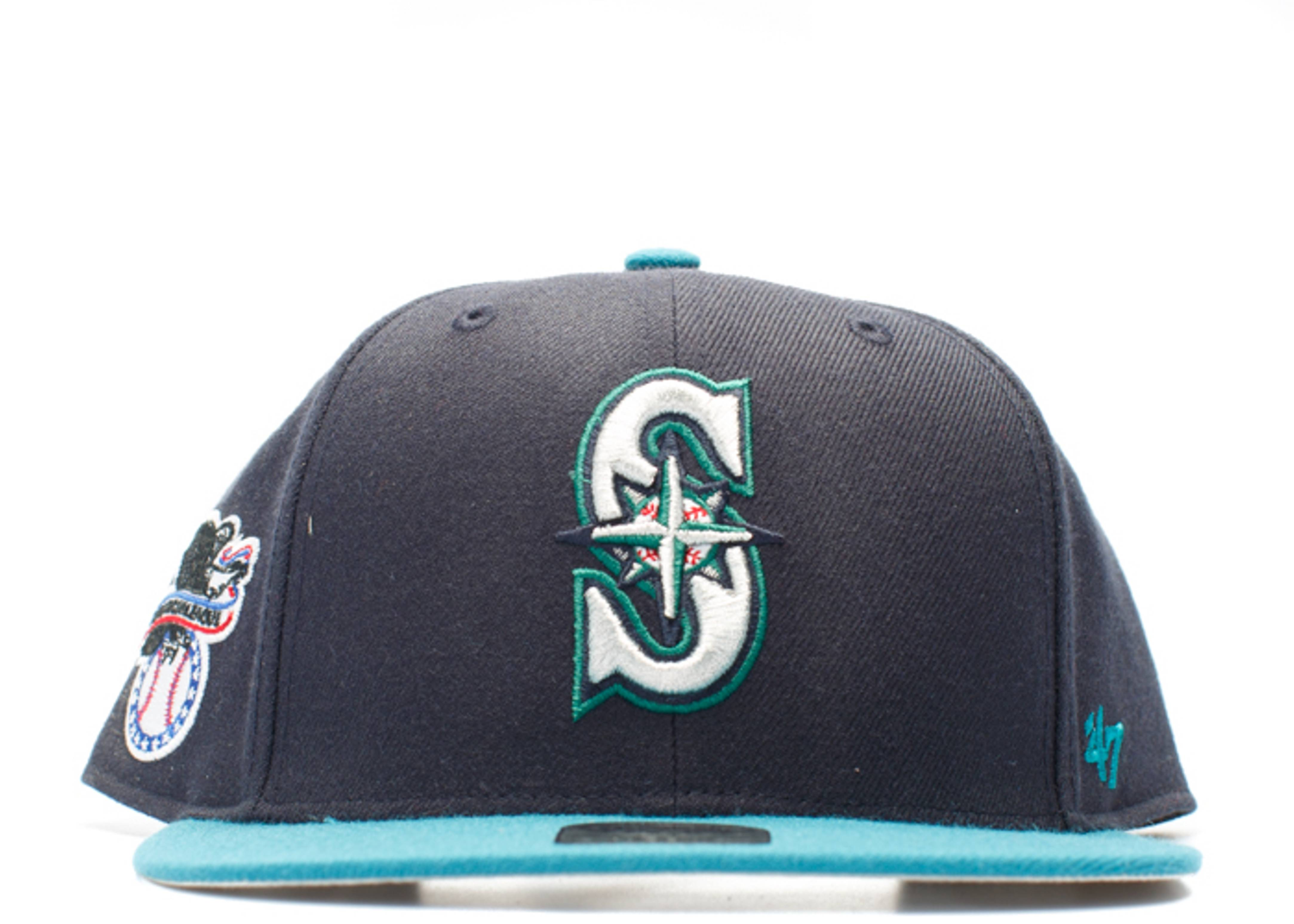 """seattle mariners snap-back """"american league side patch"""""""