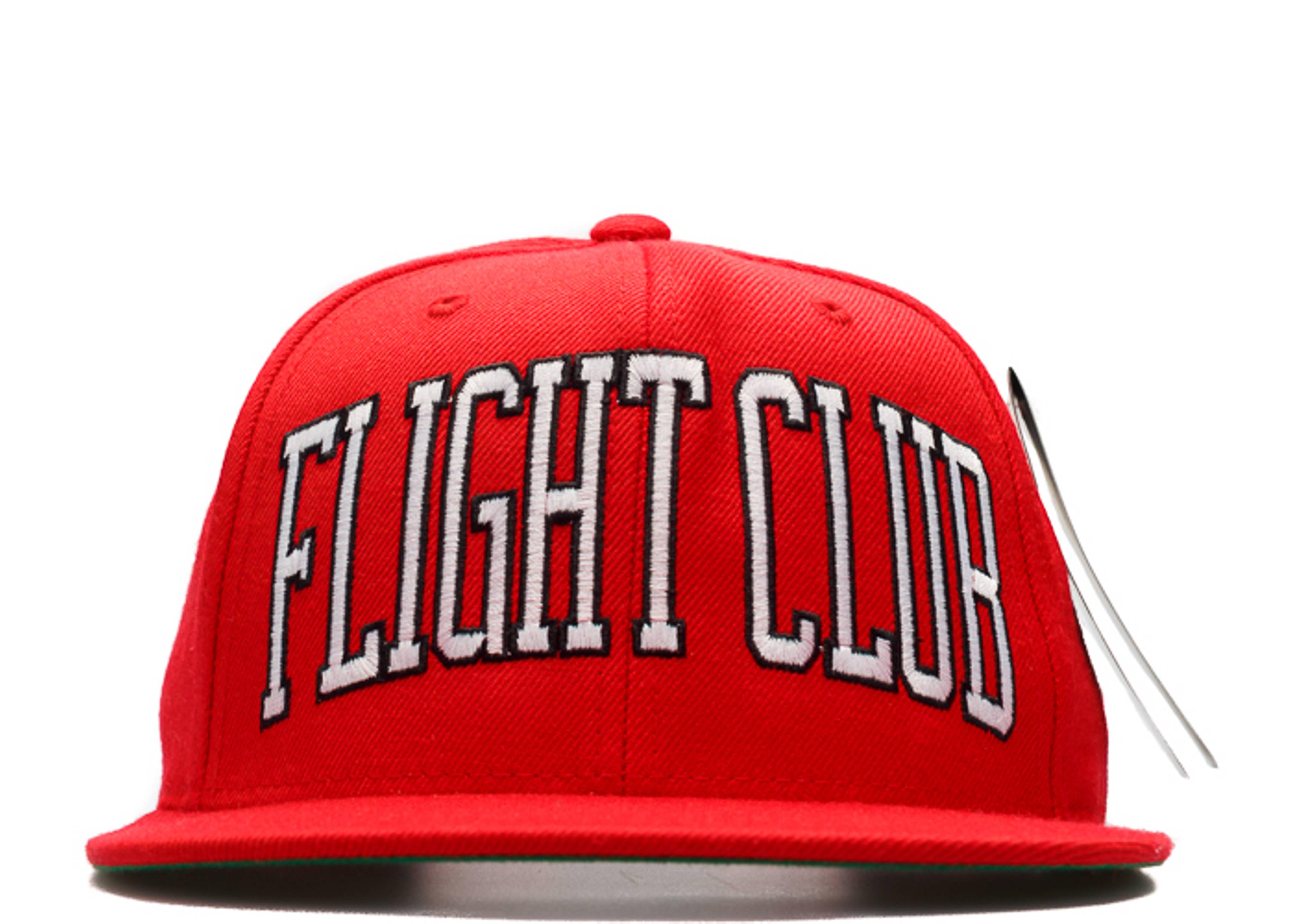 "flight club x starter arc snap-back ""red storm"""