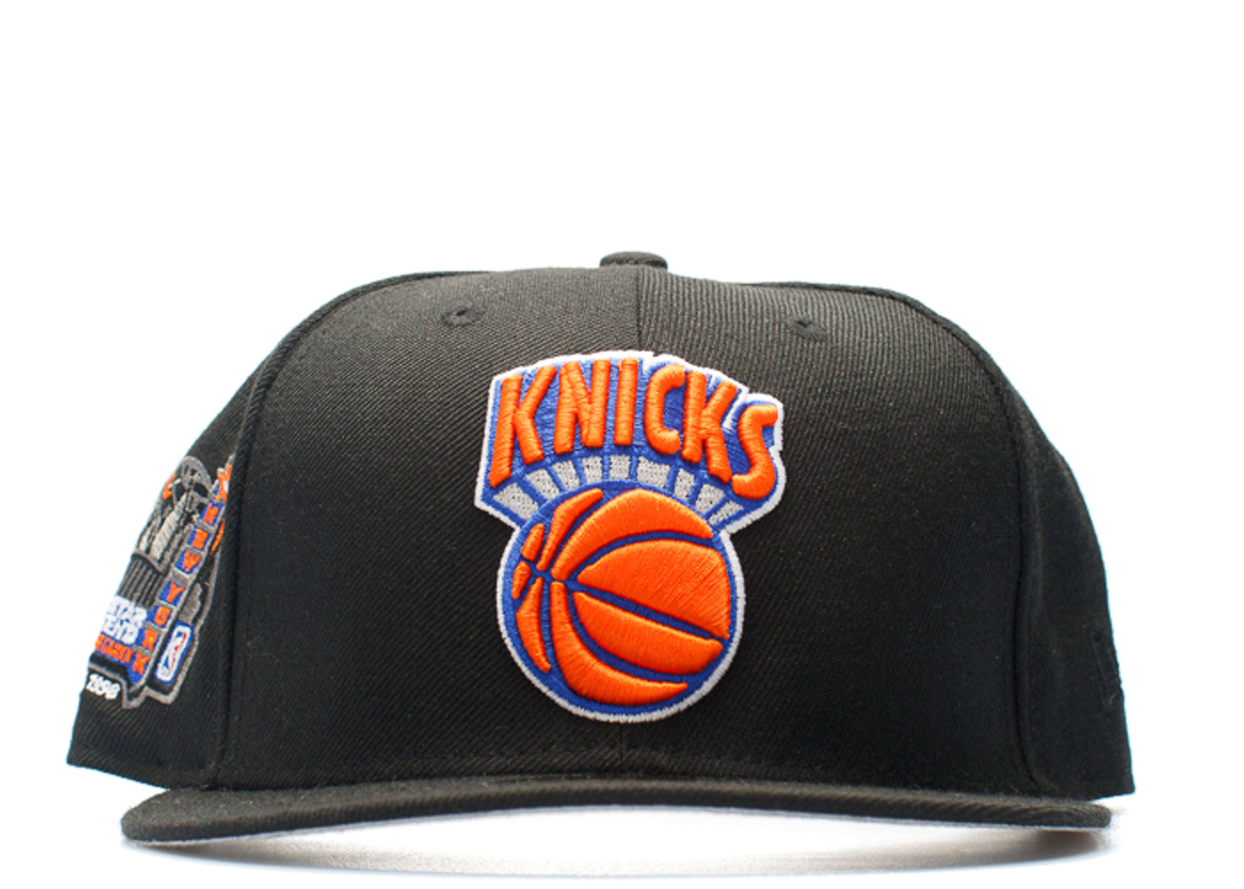 """new york knicks fitted """"1998 all-star game patch"""""""