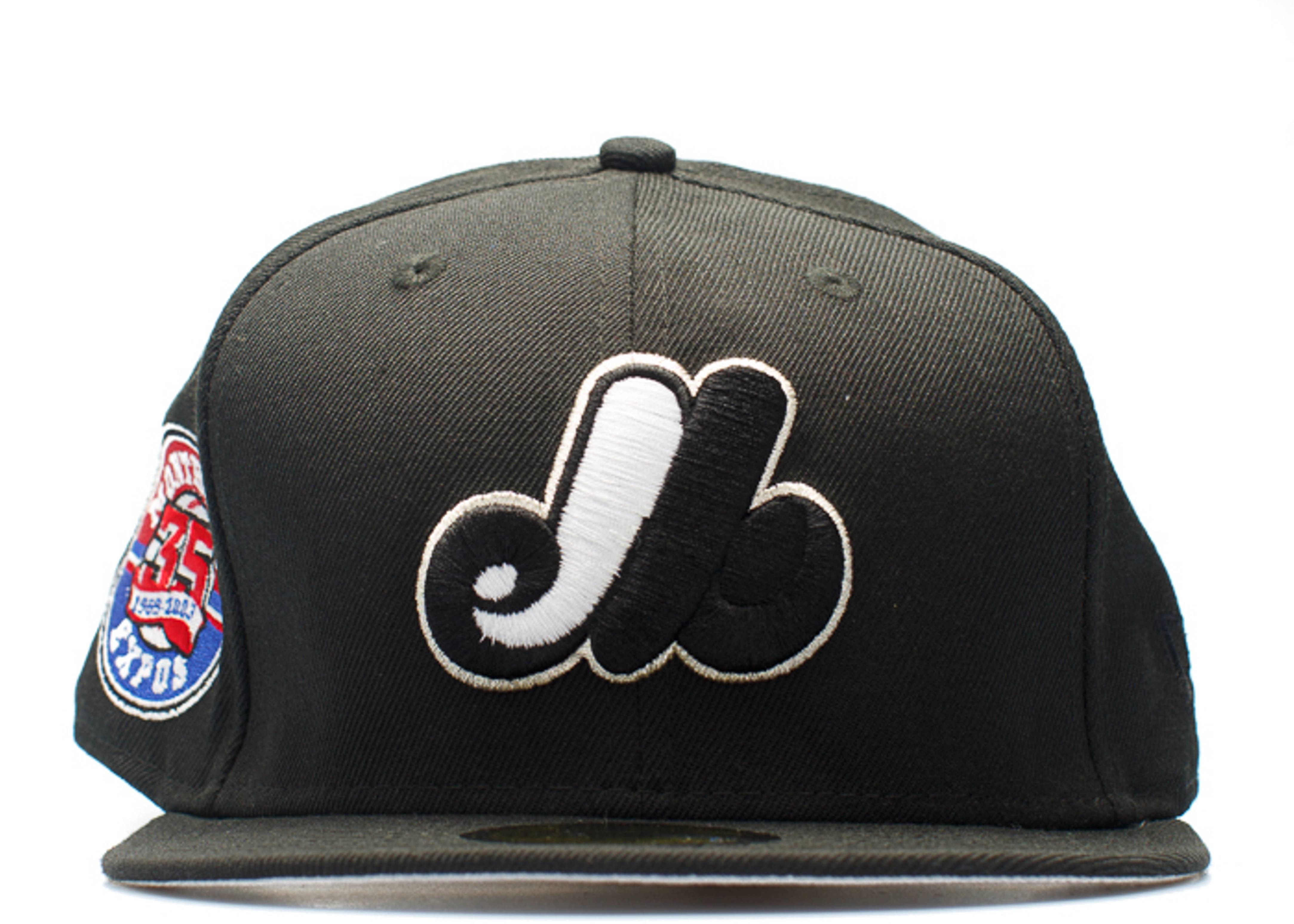 "montreal expos fitted ""35th anniversary patch"""