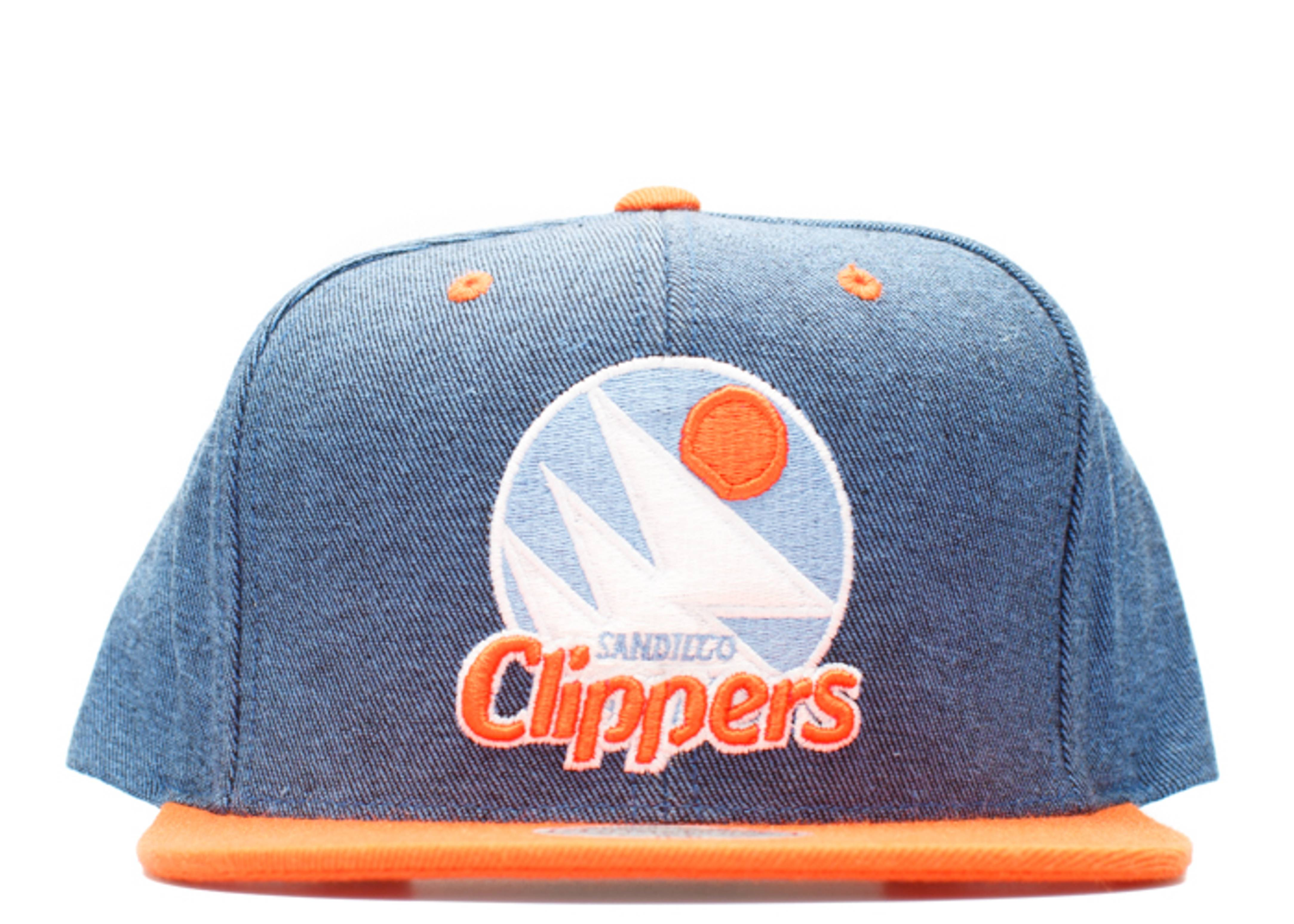 san diego clippers denim snap-back