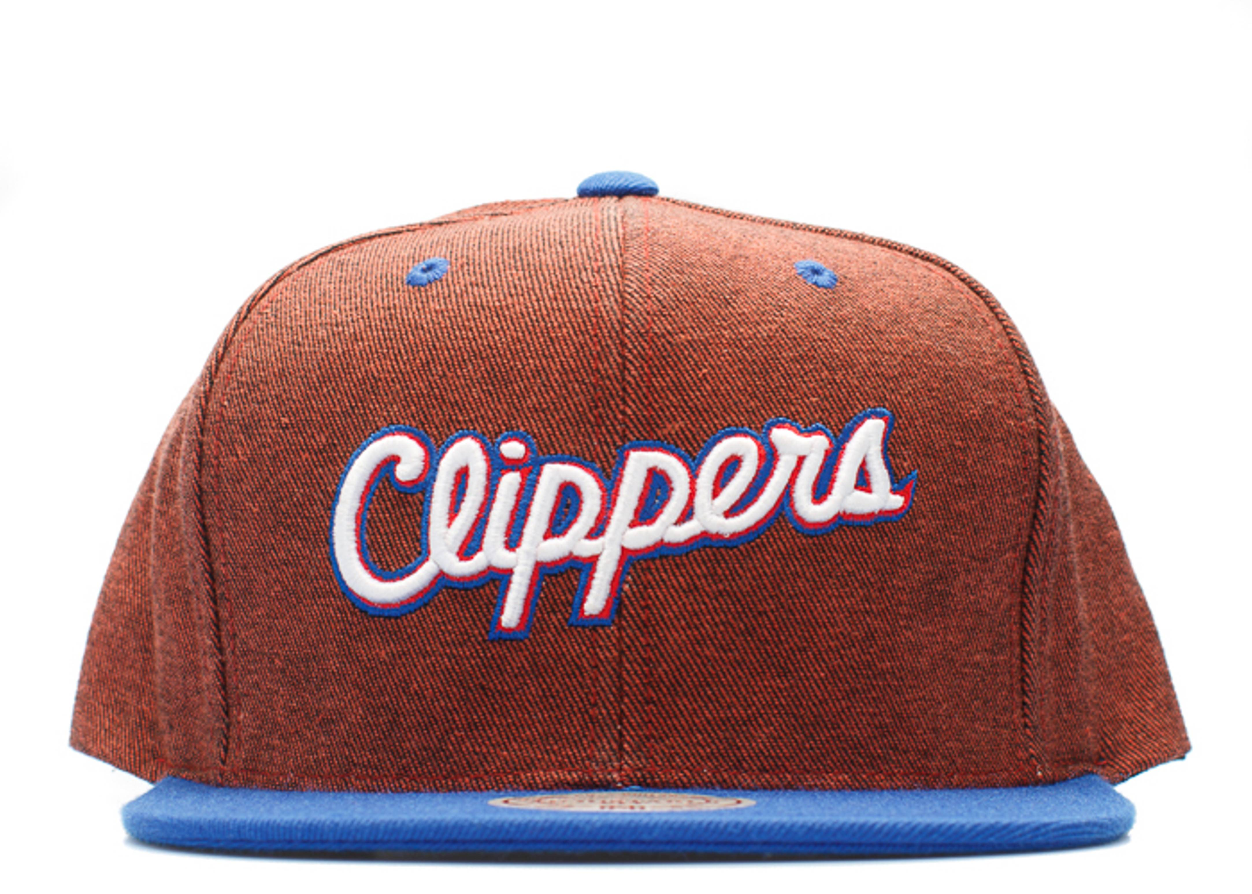 los angeles clippers denim snap-back