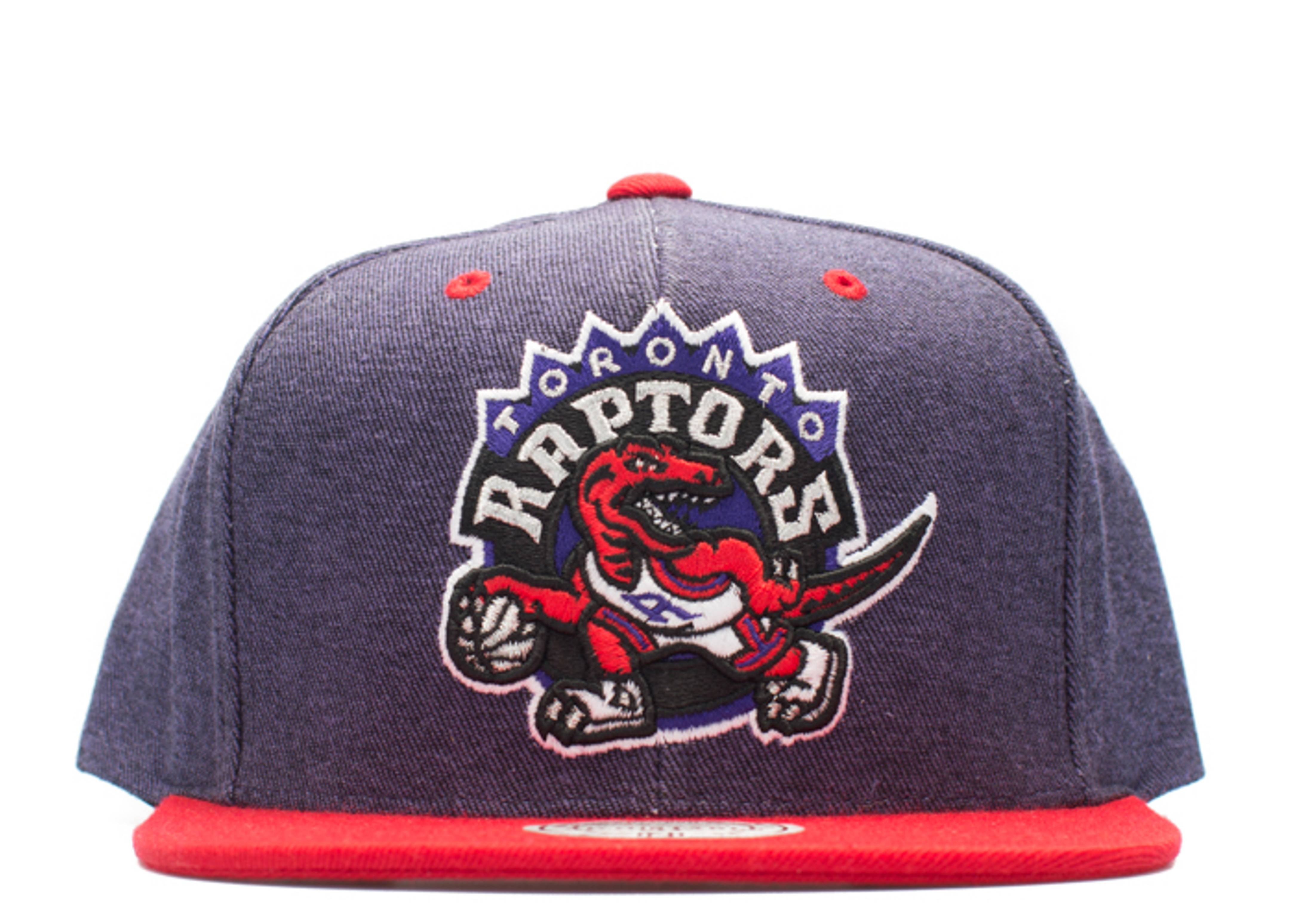 toronto raptors denim snap-back