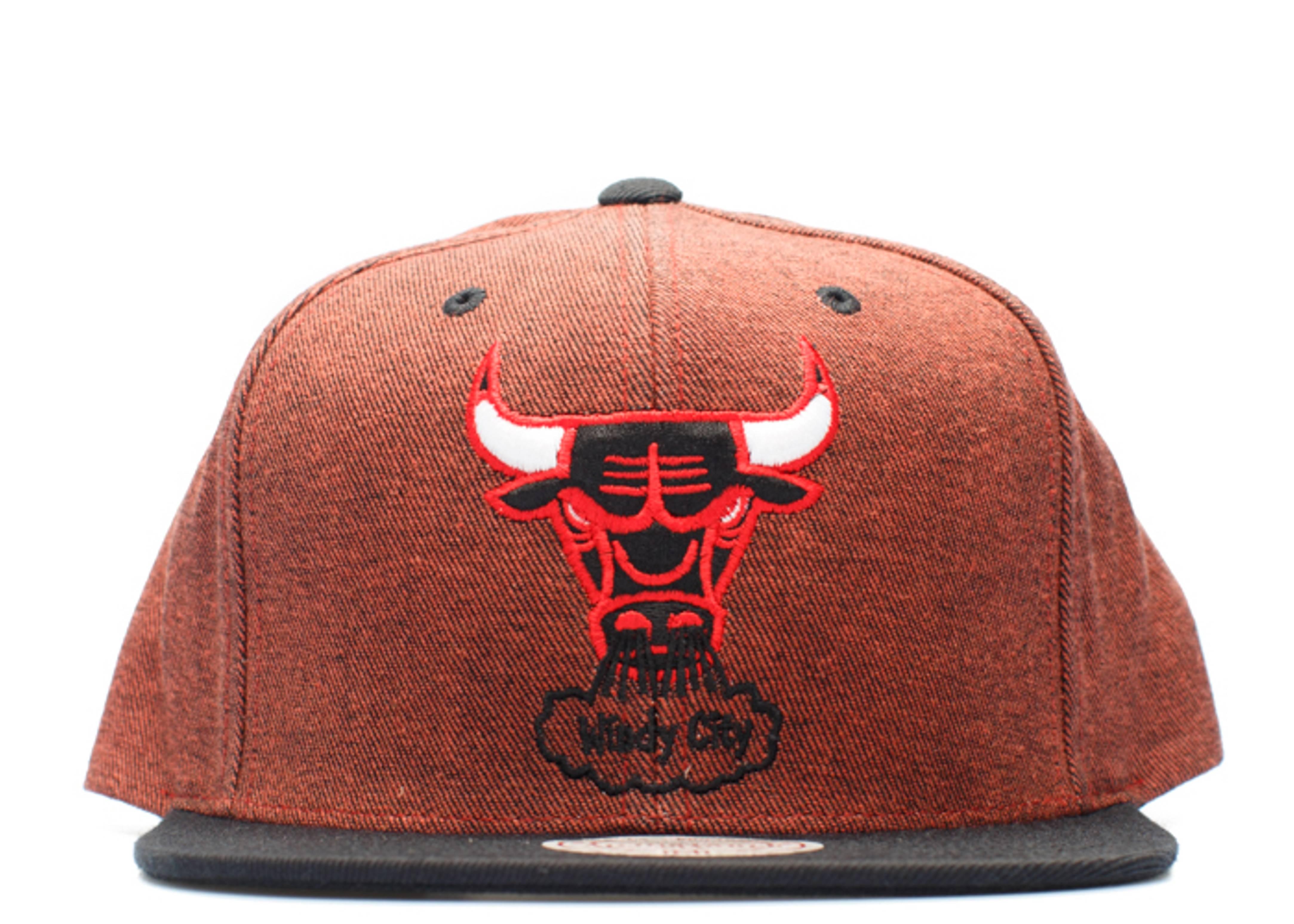 chicago bulls denim snap-back