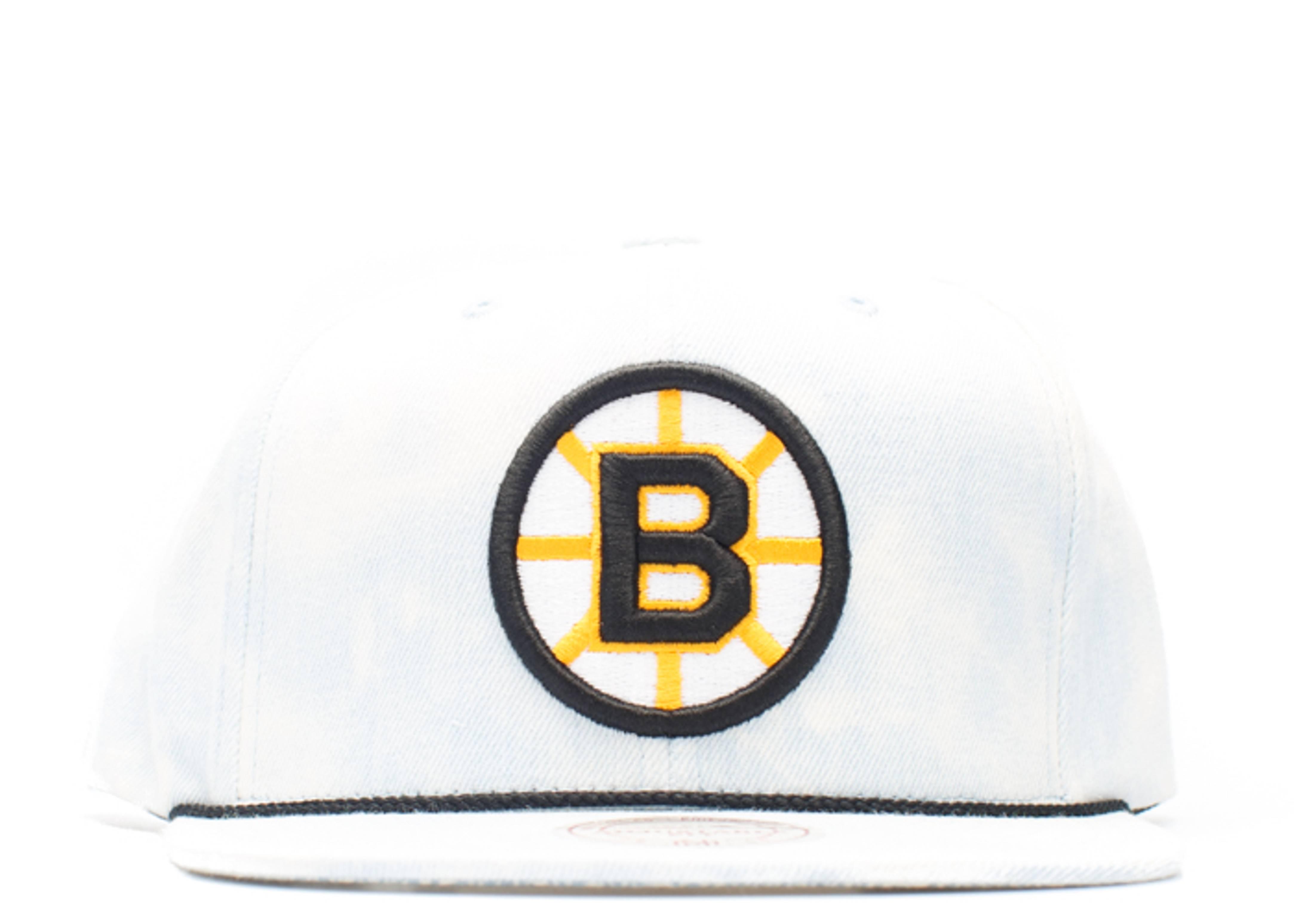 """boston bruins snap-back """"lite acid wash"""""""