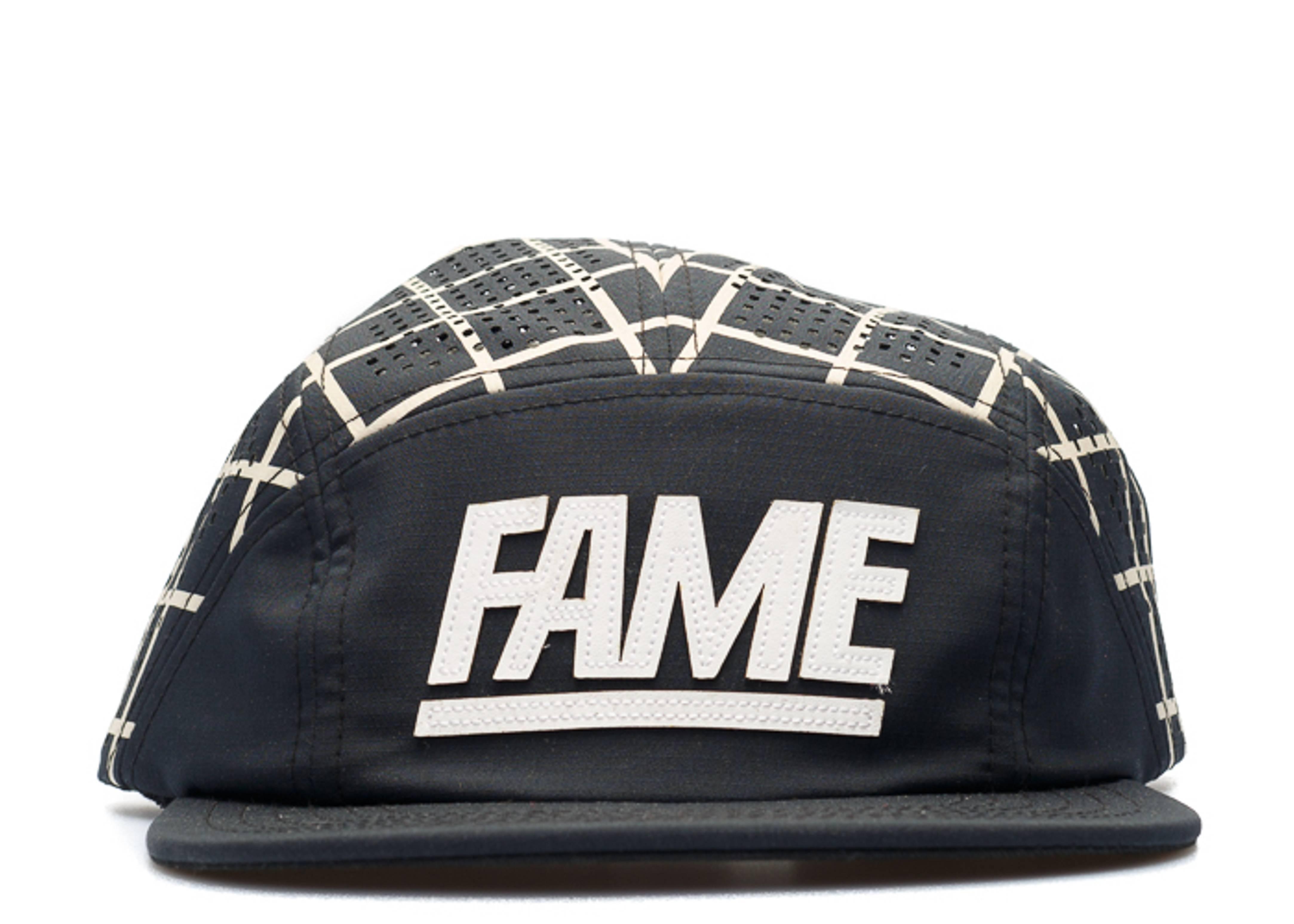 split fame block camper 5-panel strap-back