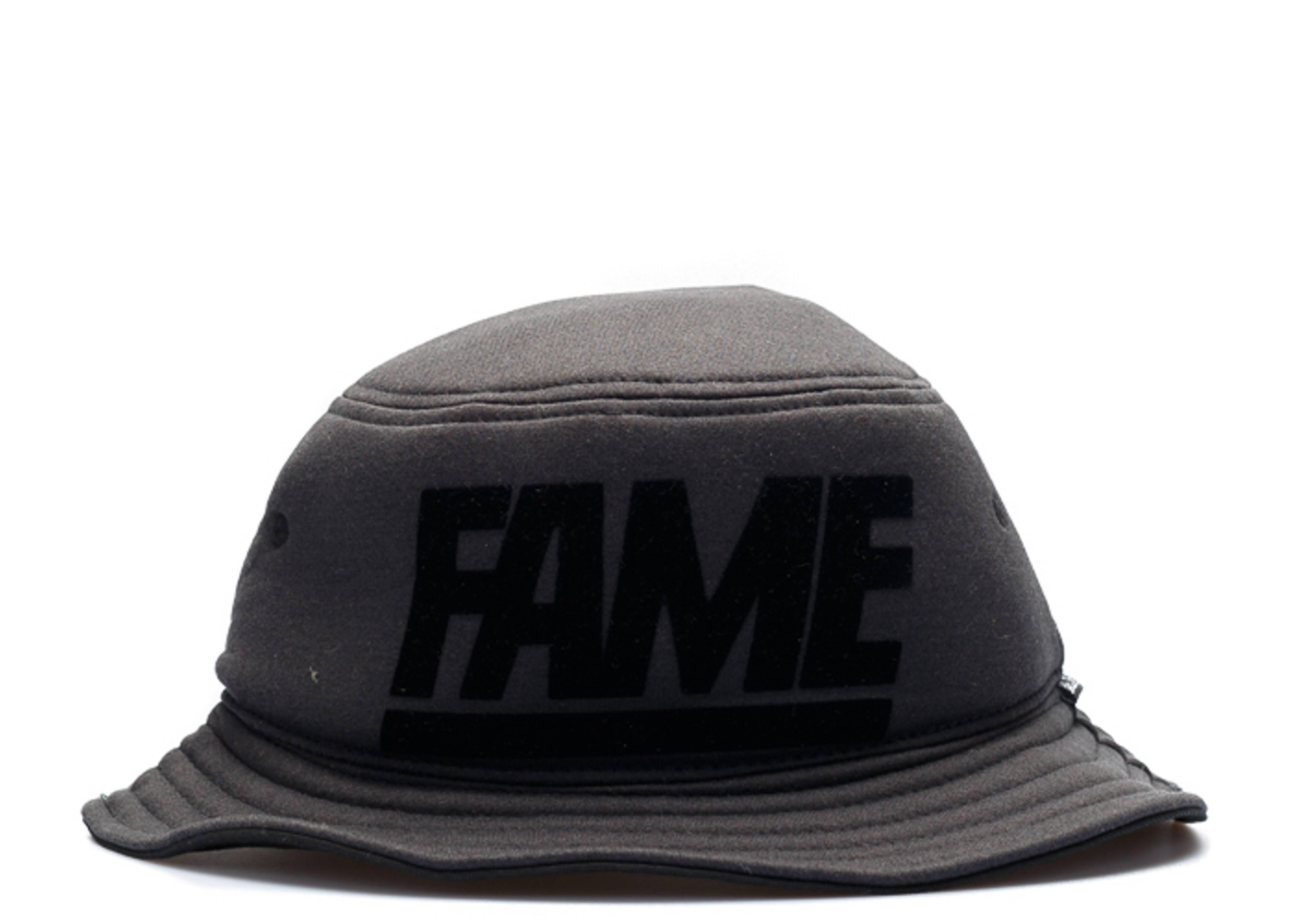 fame block foam bucket hat