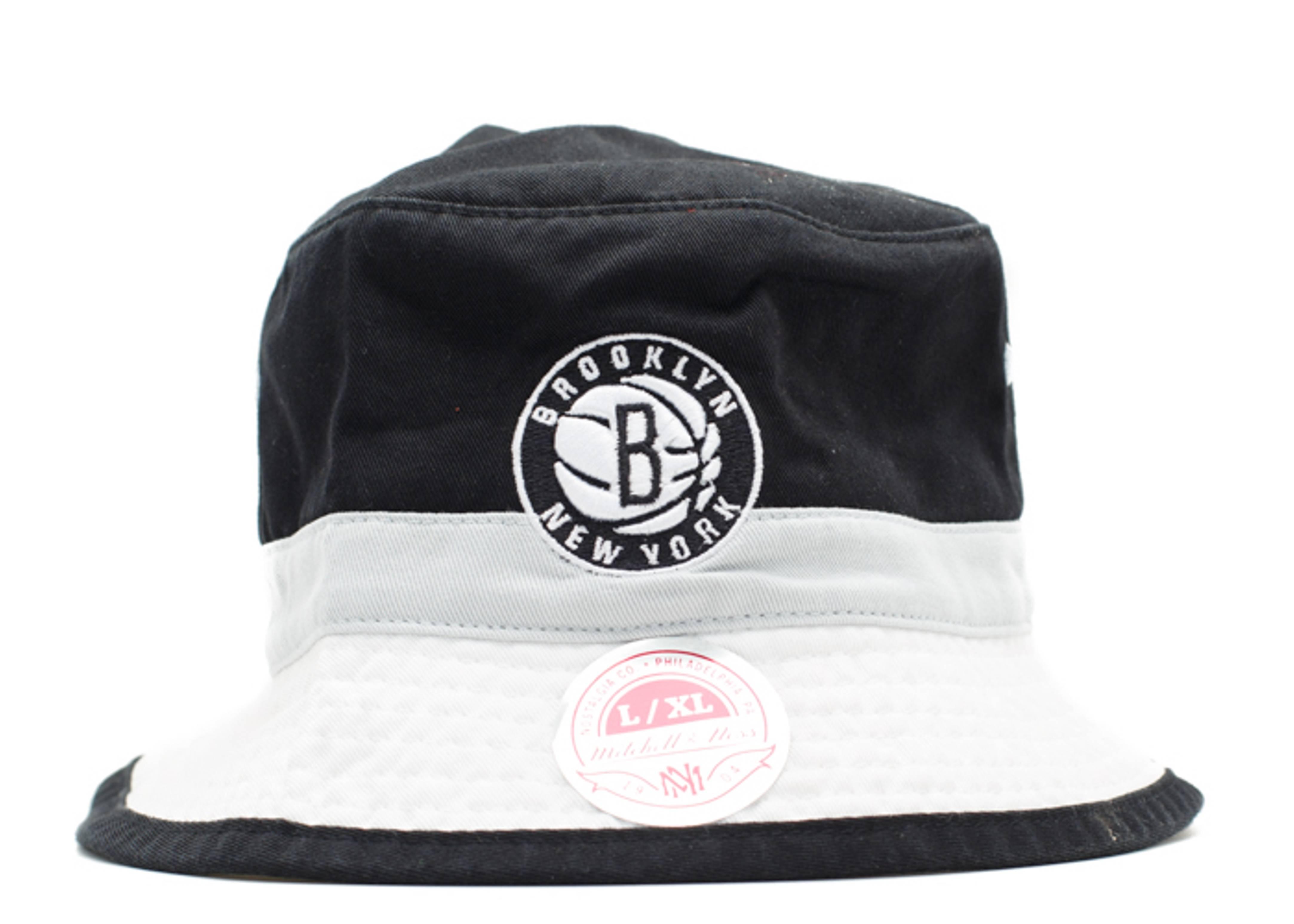 brooklyn nets bucket hat